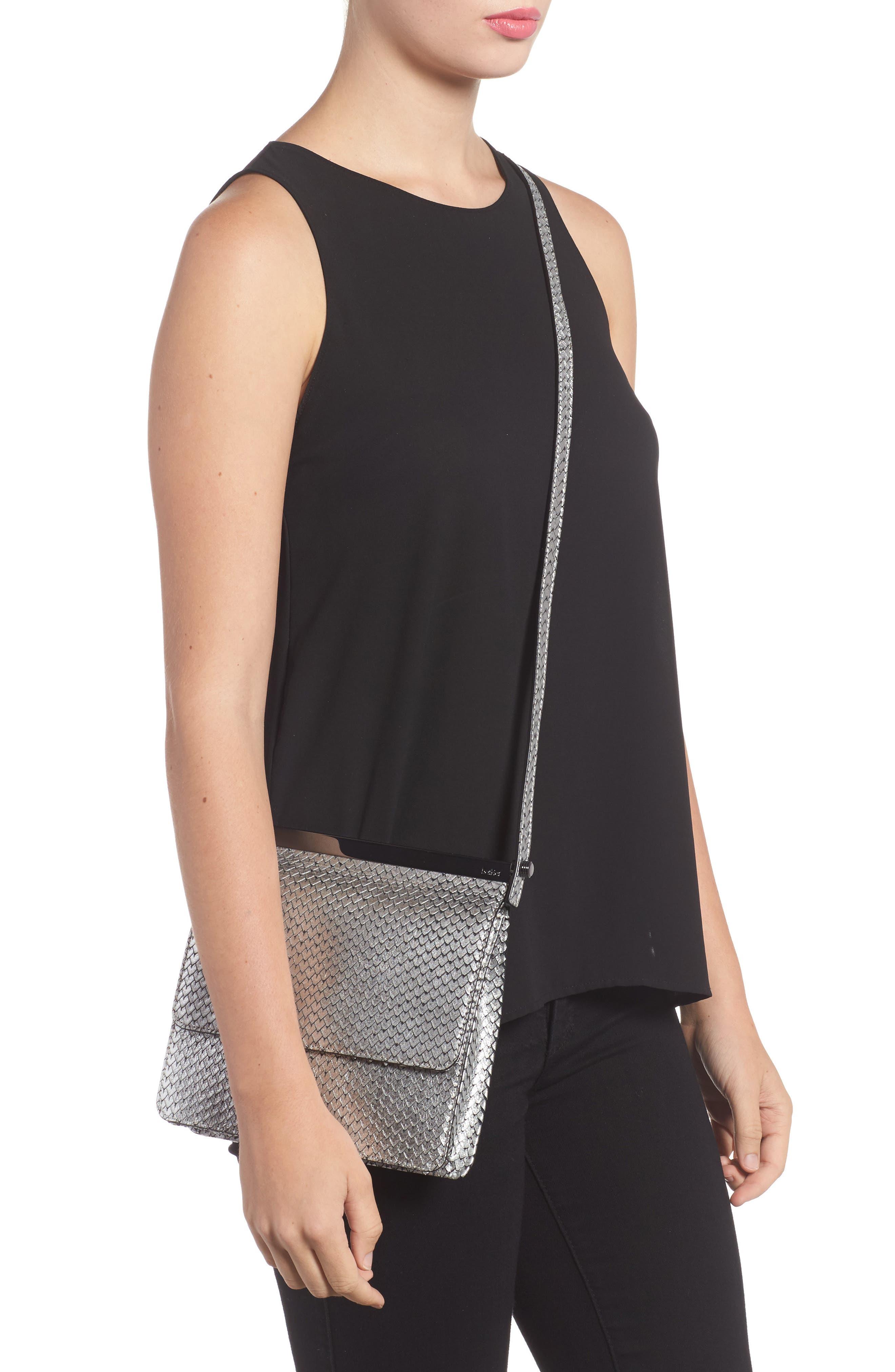 Crawford Calfskin Leather Crossbody Bag,                             Alternate thumbnail 5, color,