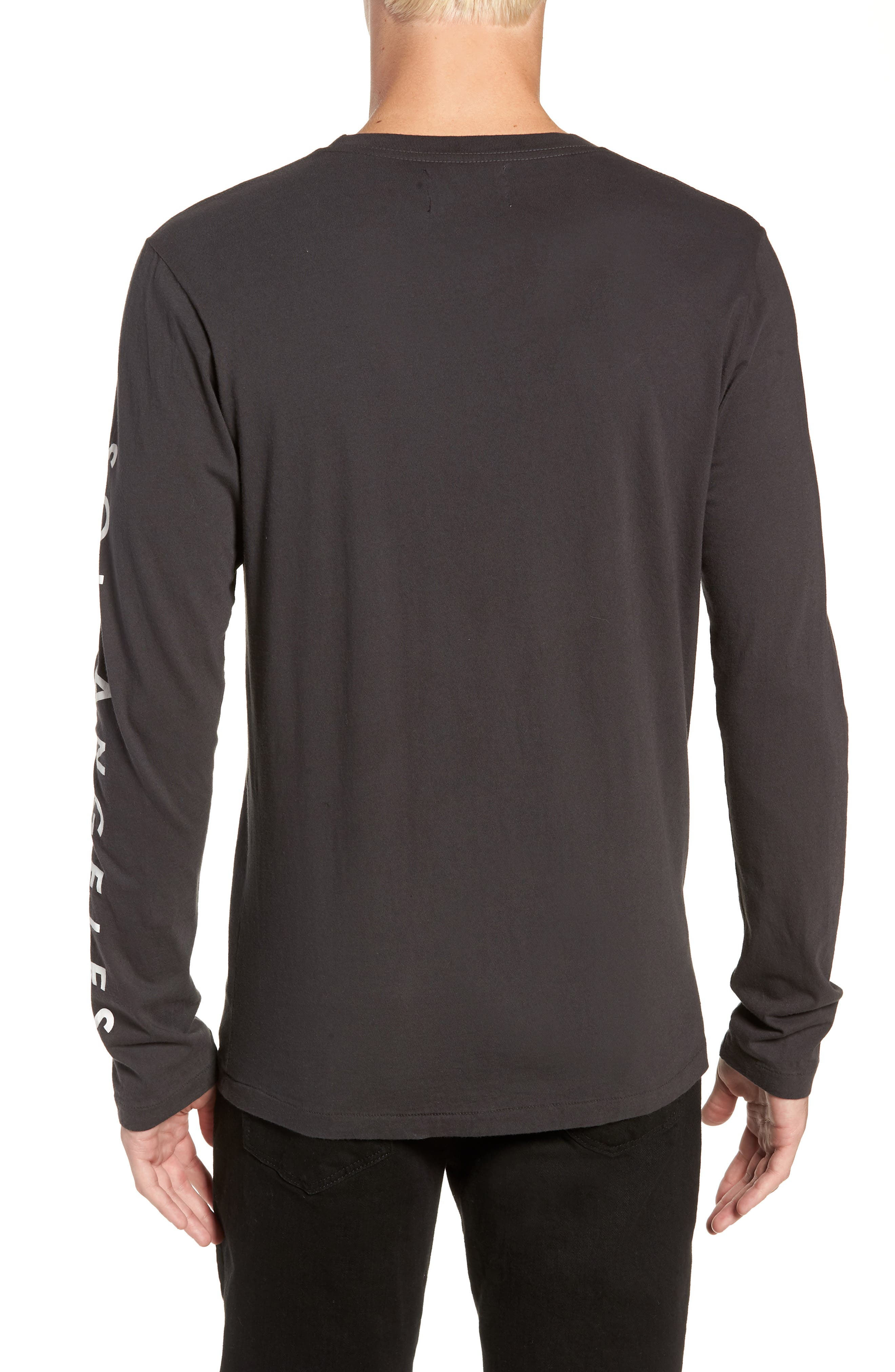 Highline Graphic T-Shirt,                             Alternate thumbnail 2, color,                             V BLACK