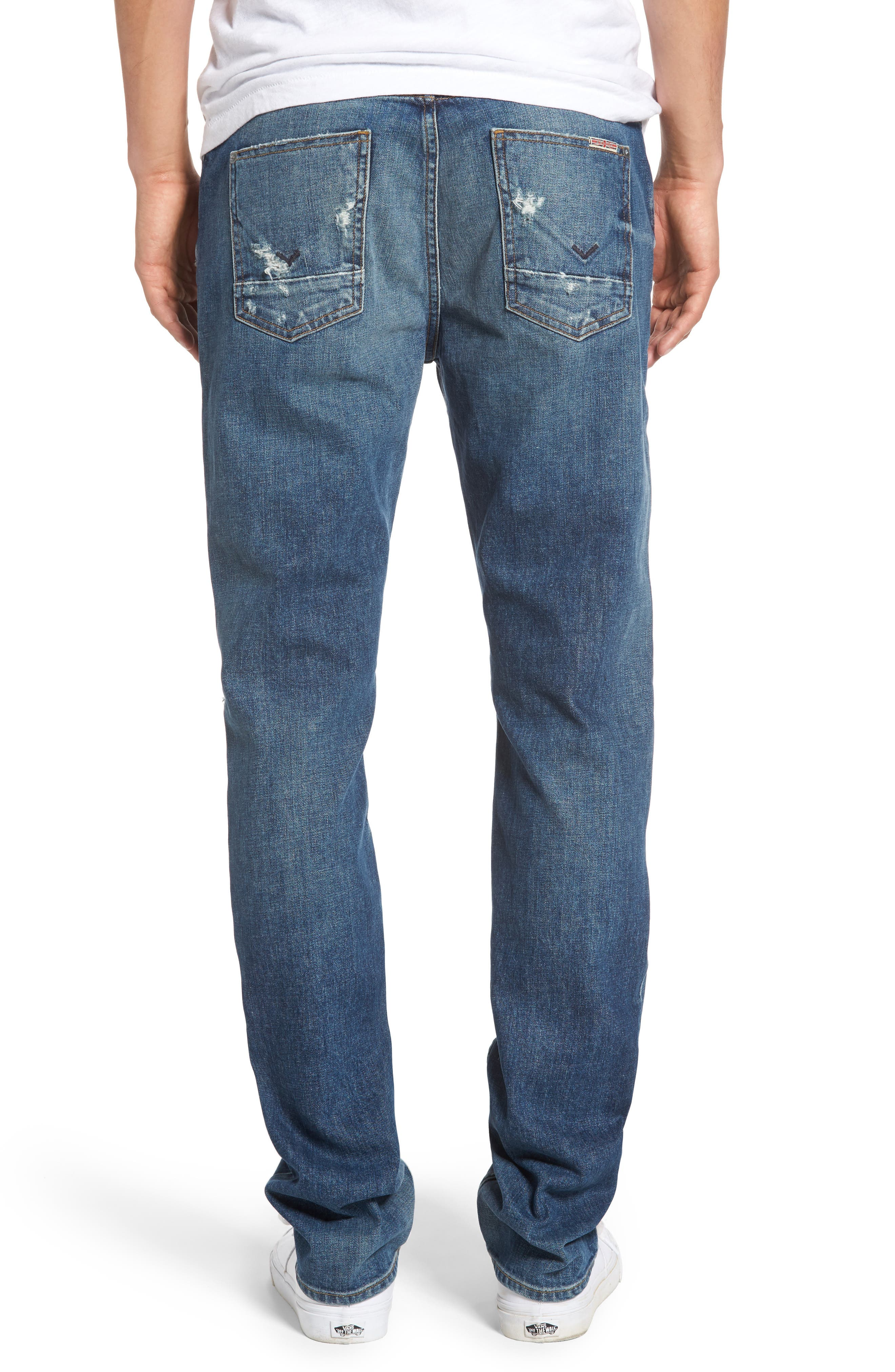 Sartor Slouchy Skinny Jeans,                             Alternate thumbnail 2, color,                             421