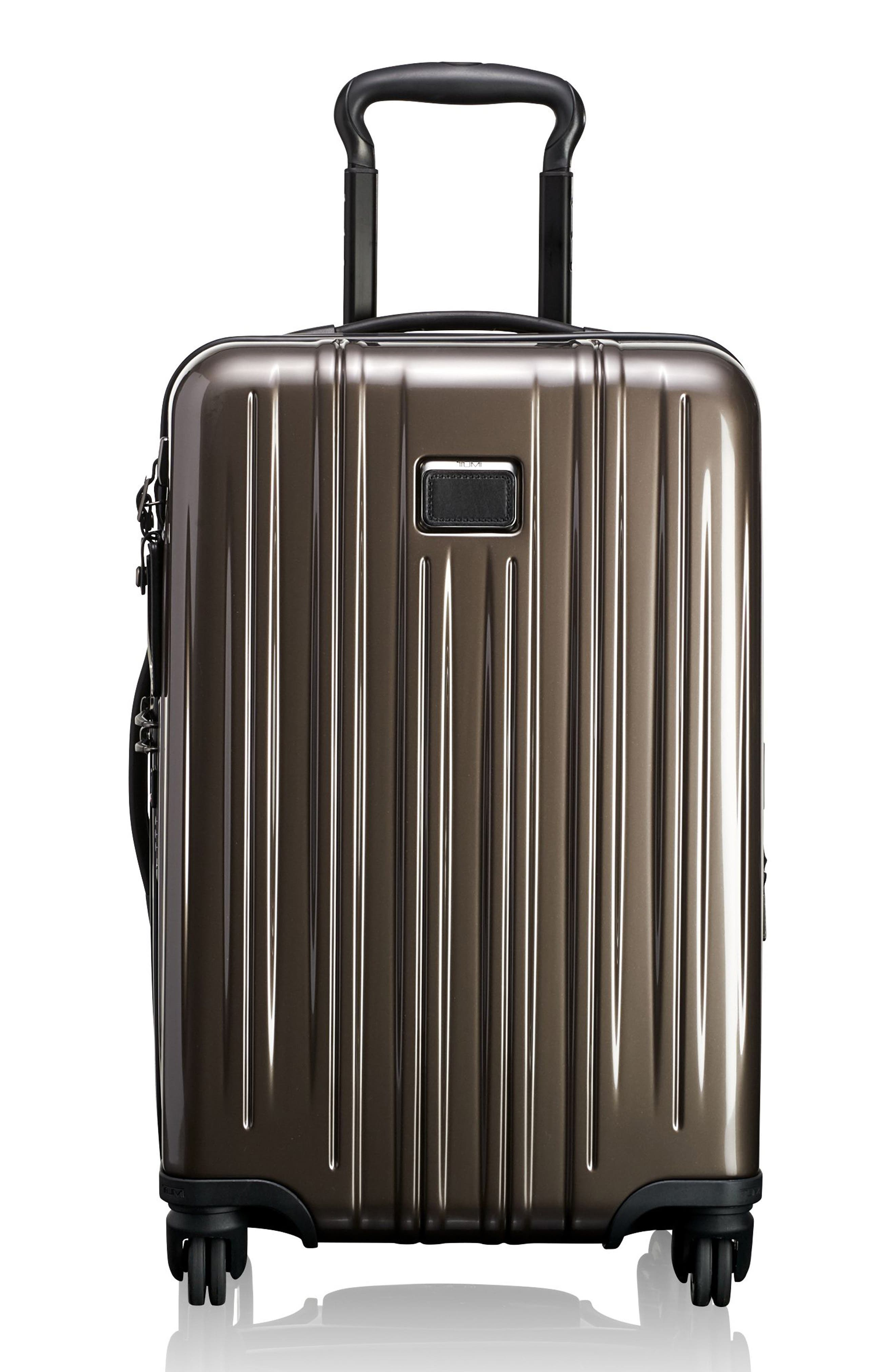 V3 International 22-Inch Expandable Wheeled Carry-On,                         Main,                         color, MINK