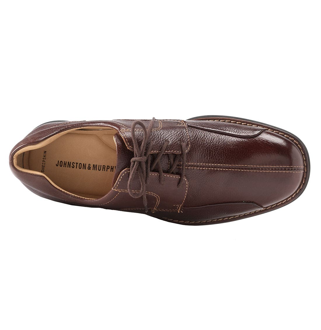 'Shuler' Oxford,                             Alternate thumbnail 5, color,                             DARK BROWN