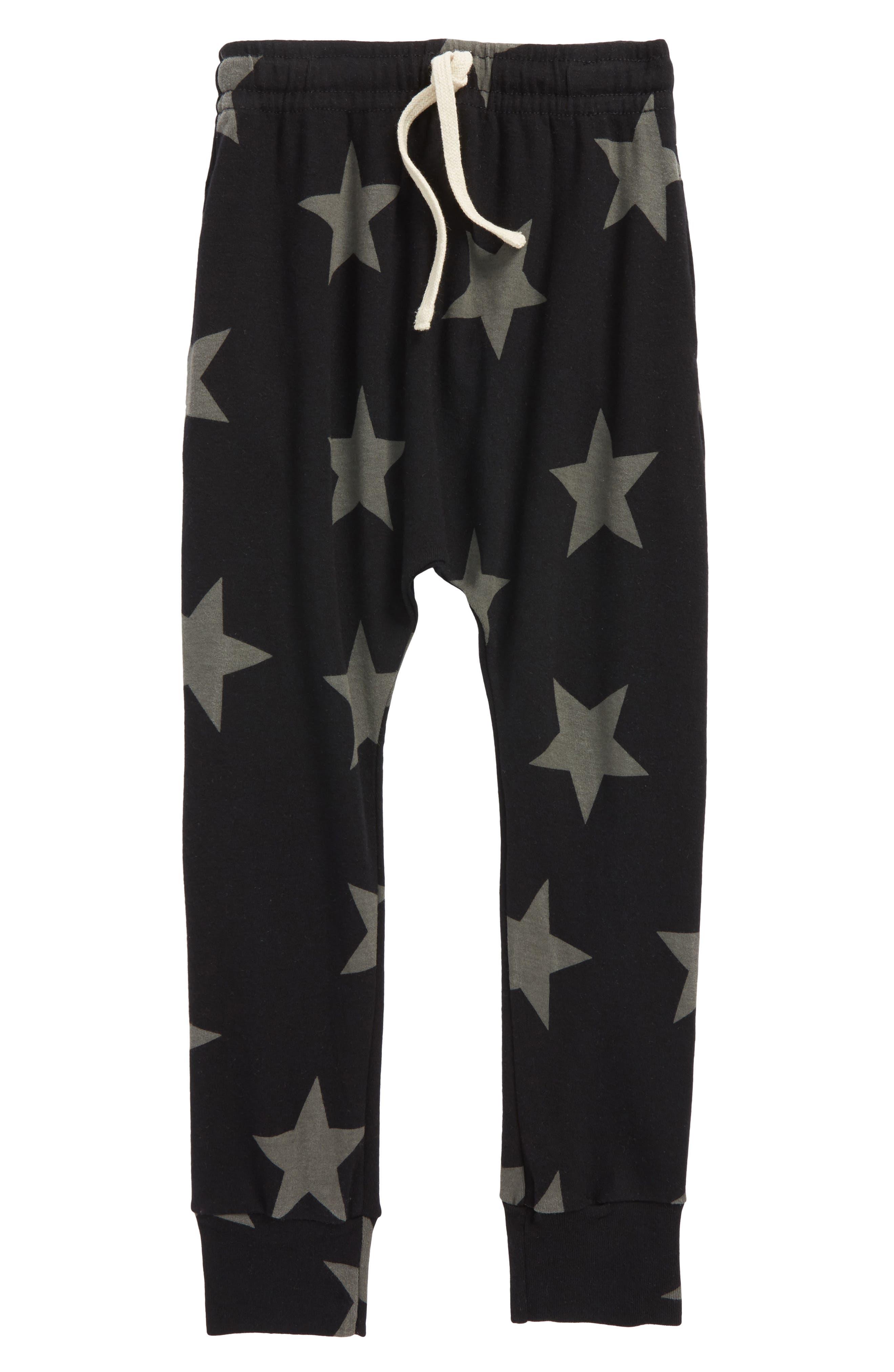 Star Baggy Pants,                             Main thumbnail 1, color,                             001
