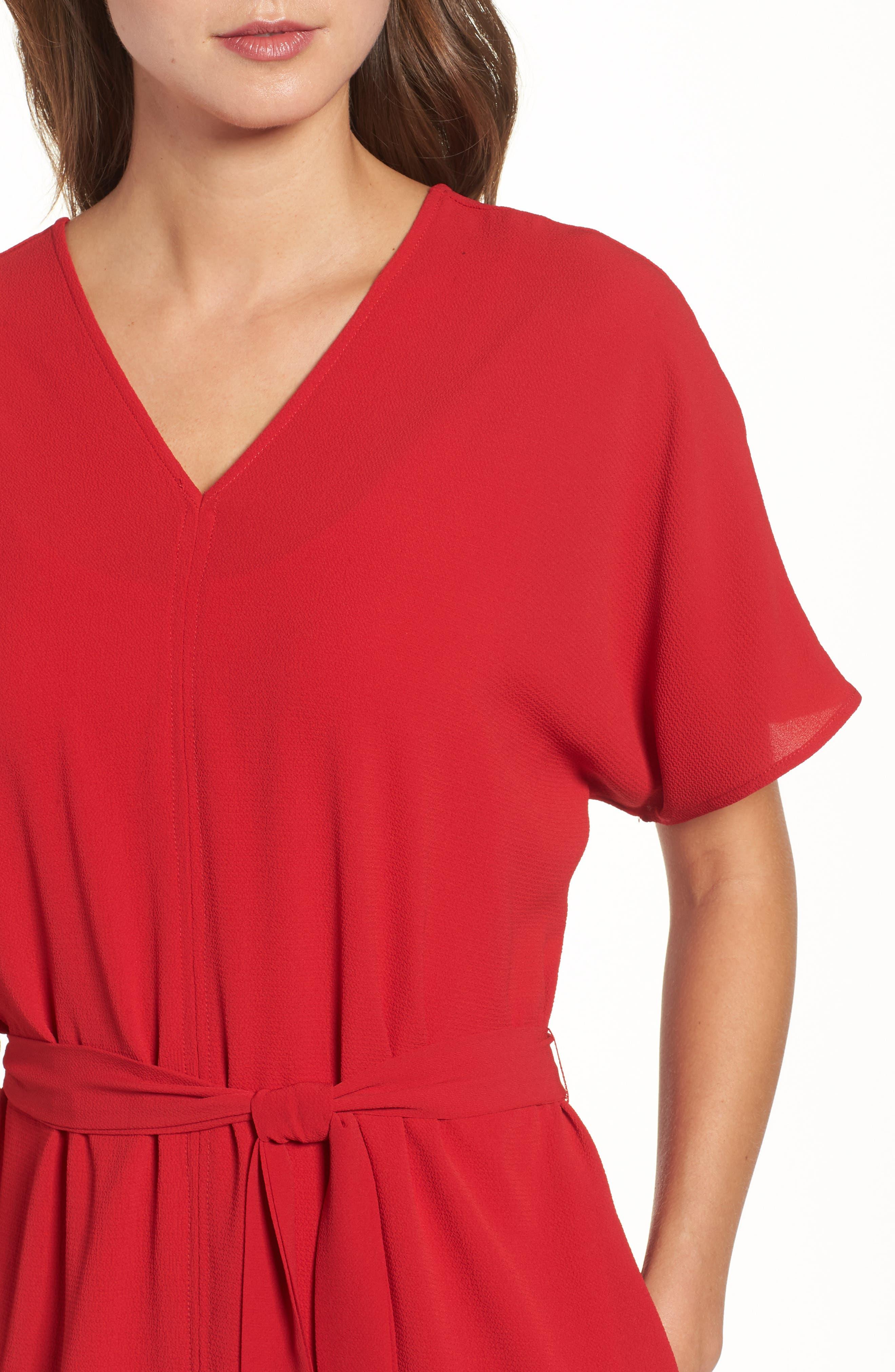 Stretch Crepe Dress,                             Alternate thumbnail 20, color,