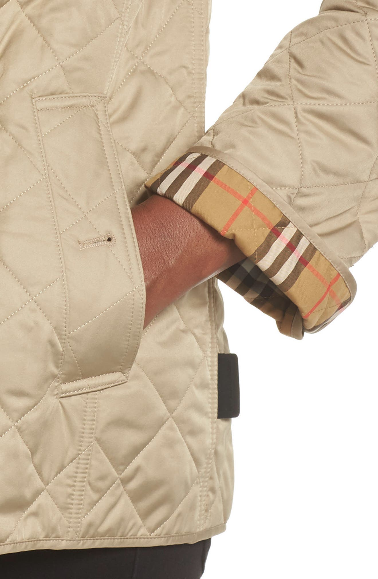 Frankby 18 Quilted Jacket,                             Alternate thumbnail 9, color,                             CANVAS