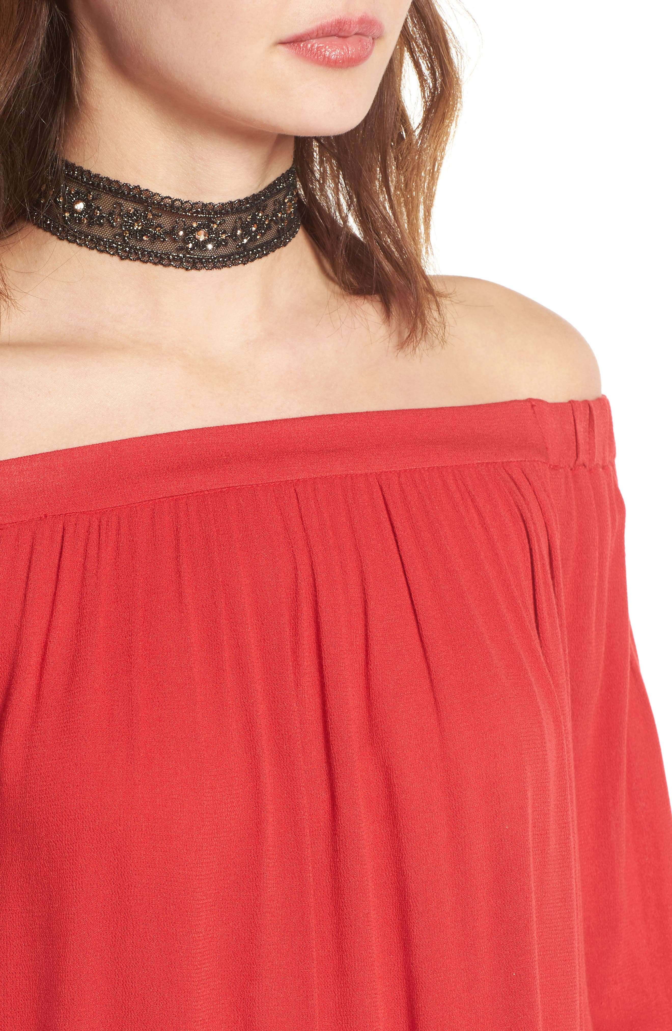 Off the Shoulder Tunic,                             Alternate thumbnail 30, color,