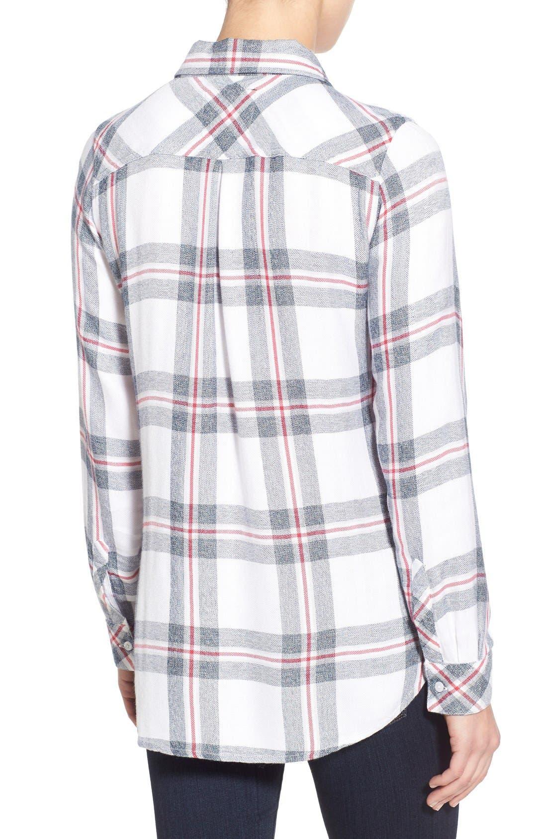 'Hunter' Plaid Shirt,                             Alternate thumbnail 3, color,                             112