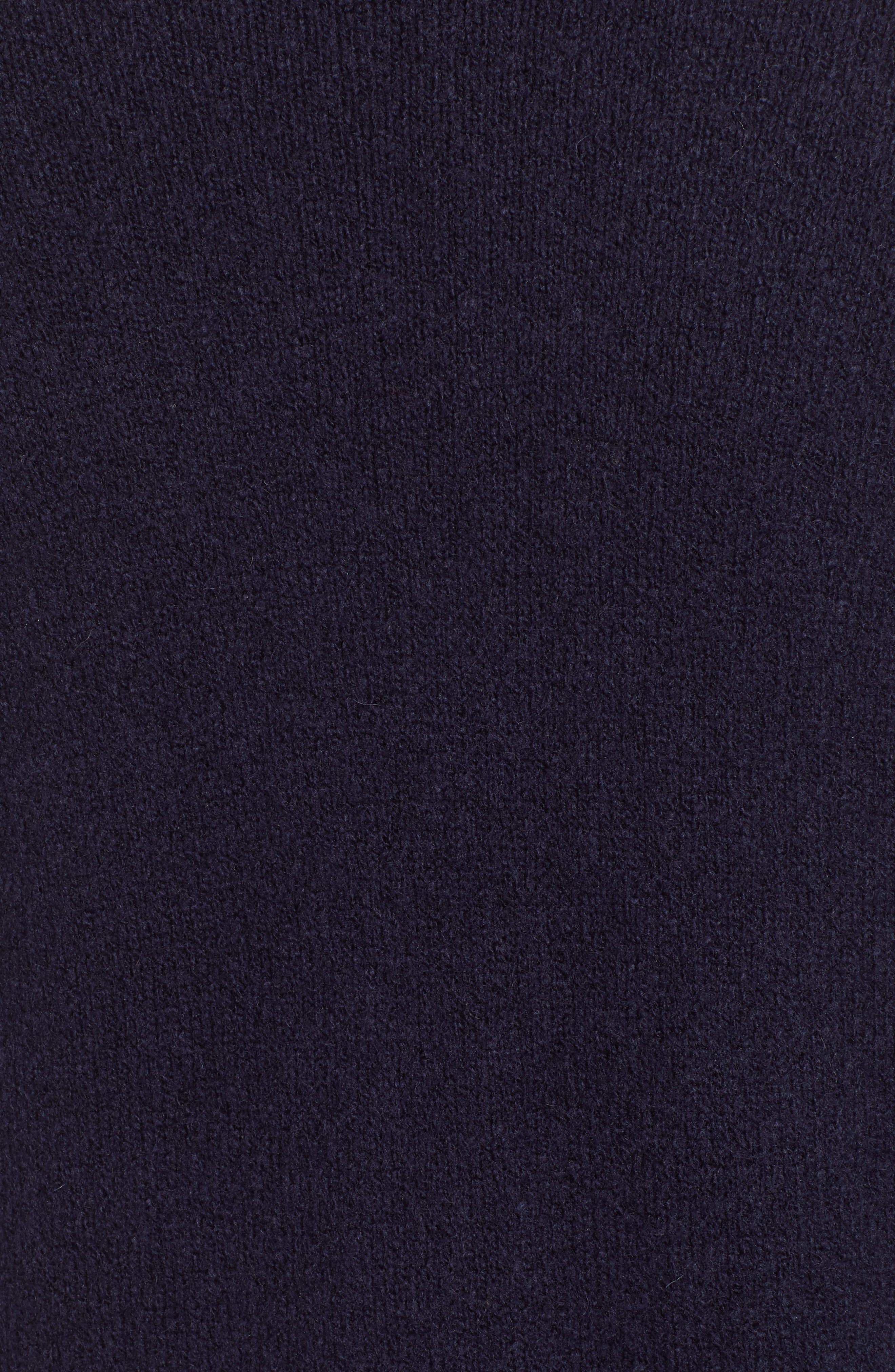 Shawl Collar Cardigan,                             Alternate thumbnail 5, color,                             NAVY