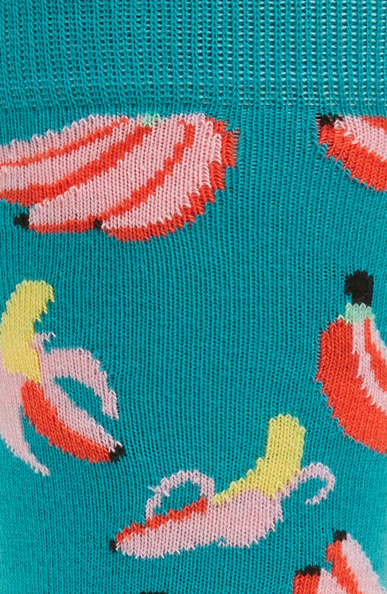 Banana Crew Socks,                             Alternate thumbnail 2, color,                             451
