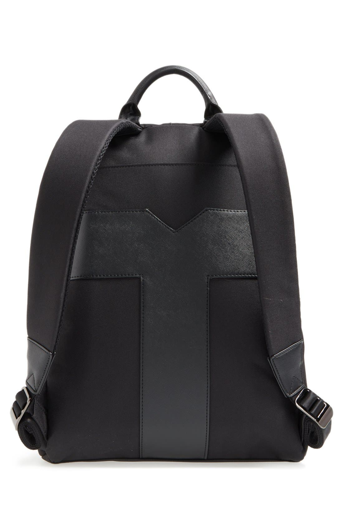 'Seata' Nylon Backpack,                             Alternate thumbnail 6, color,                             001