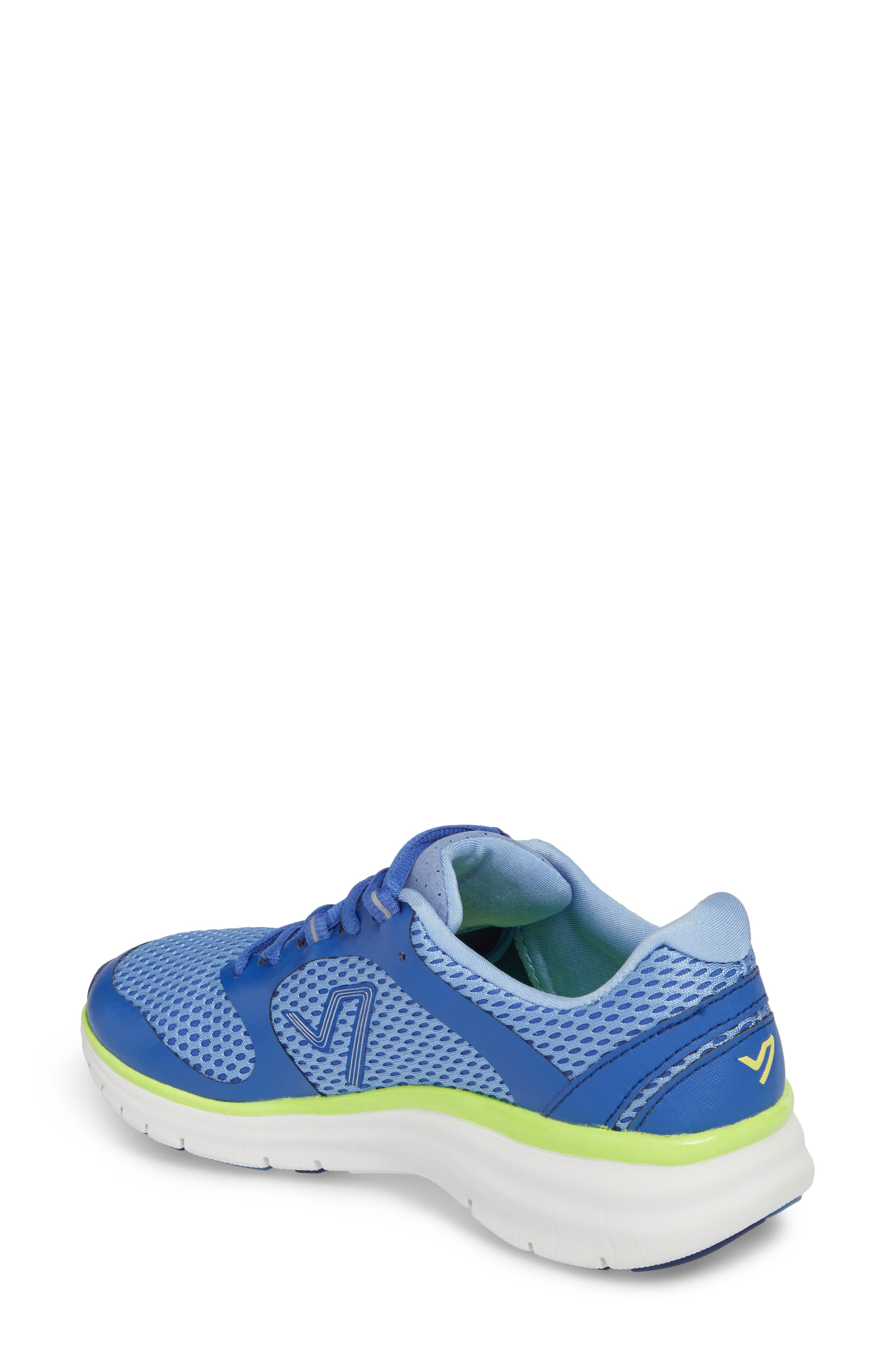 Elation Sneaker,                             Alternate thumbnail 2, color,                             BLUE/ YELLOW
