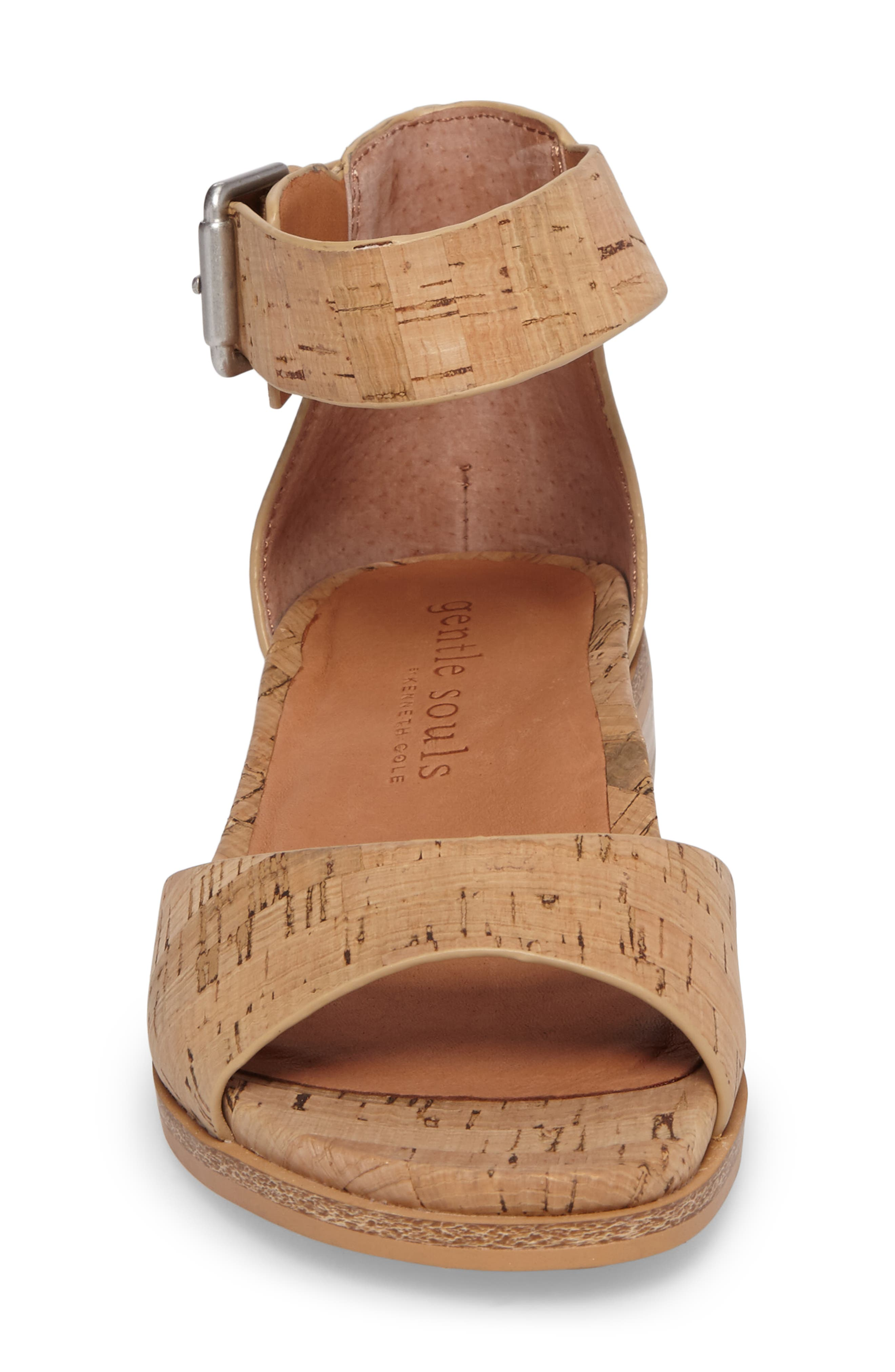 by Kenneth Cole Gracey Sandal,                             Alternate thumbnail 4, color,                             NATURAL CORK