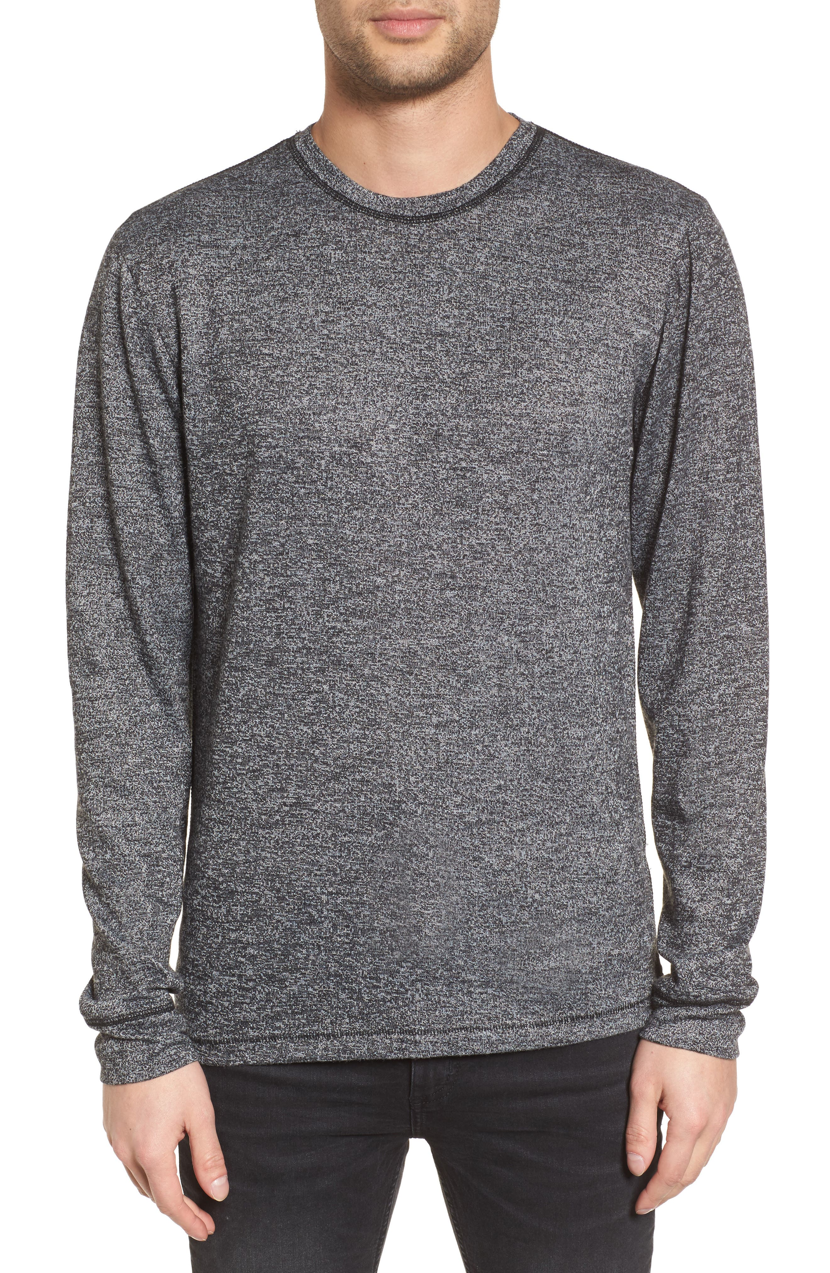 Treasure&Bond Crewneck Sweater,                         Main,                         color, 001