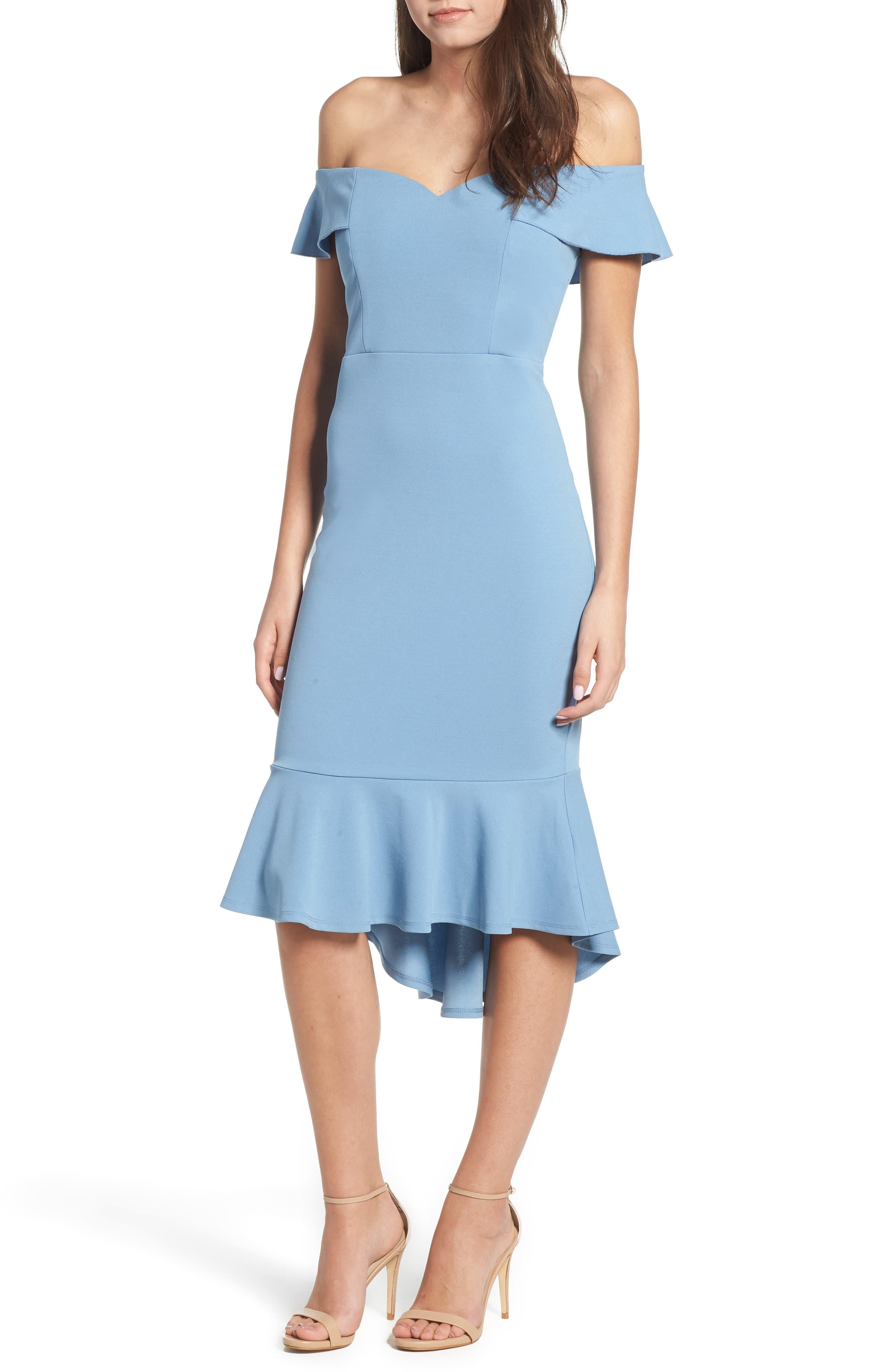 LOVE, NICKIE LEW Sweetheart Midi Dress, Main, color, 400