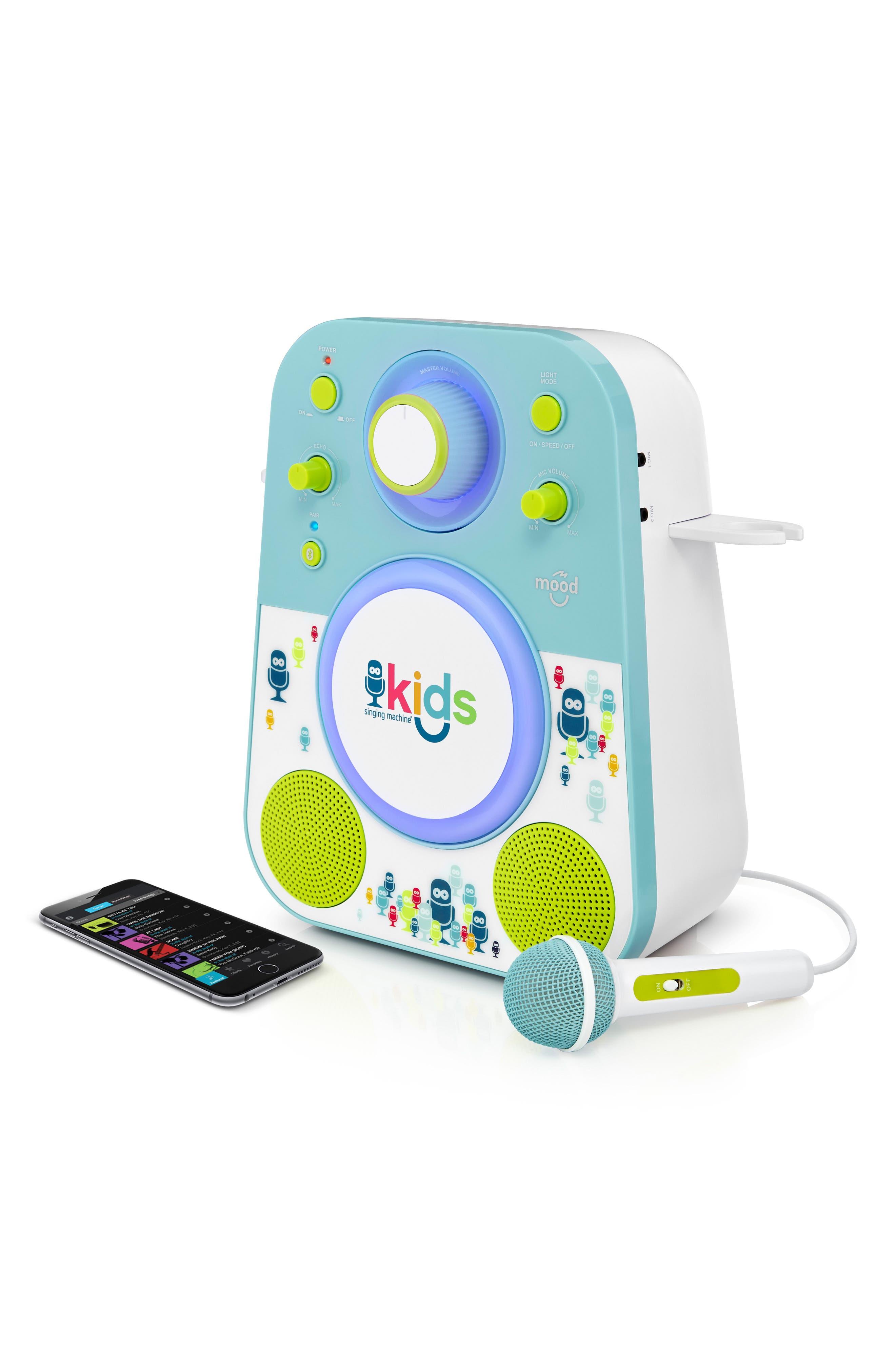 Kids Mood Karaoke System,                             Alternate thumbnail 5, color,                             BLUE GREEN