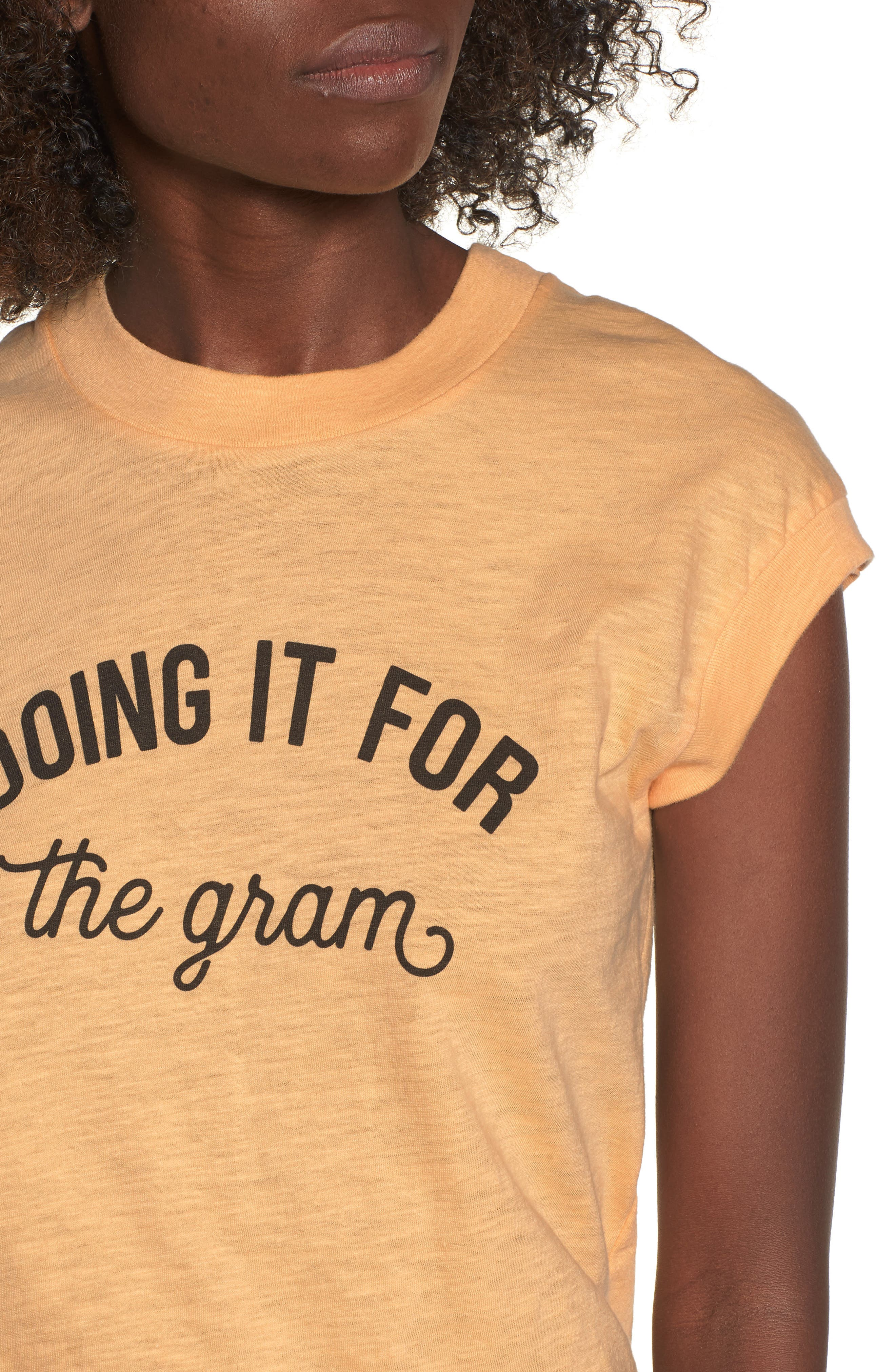 Doing It For the Gram Graphic Tee,                             Alternate thumbnail 4, color,