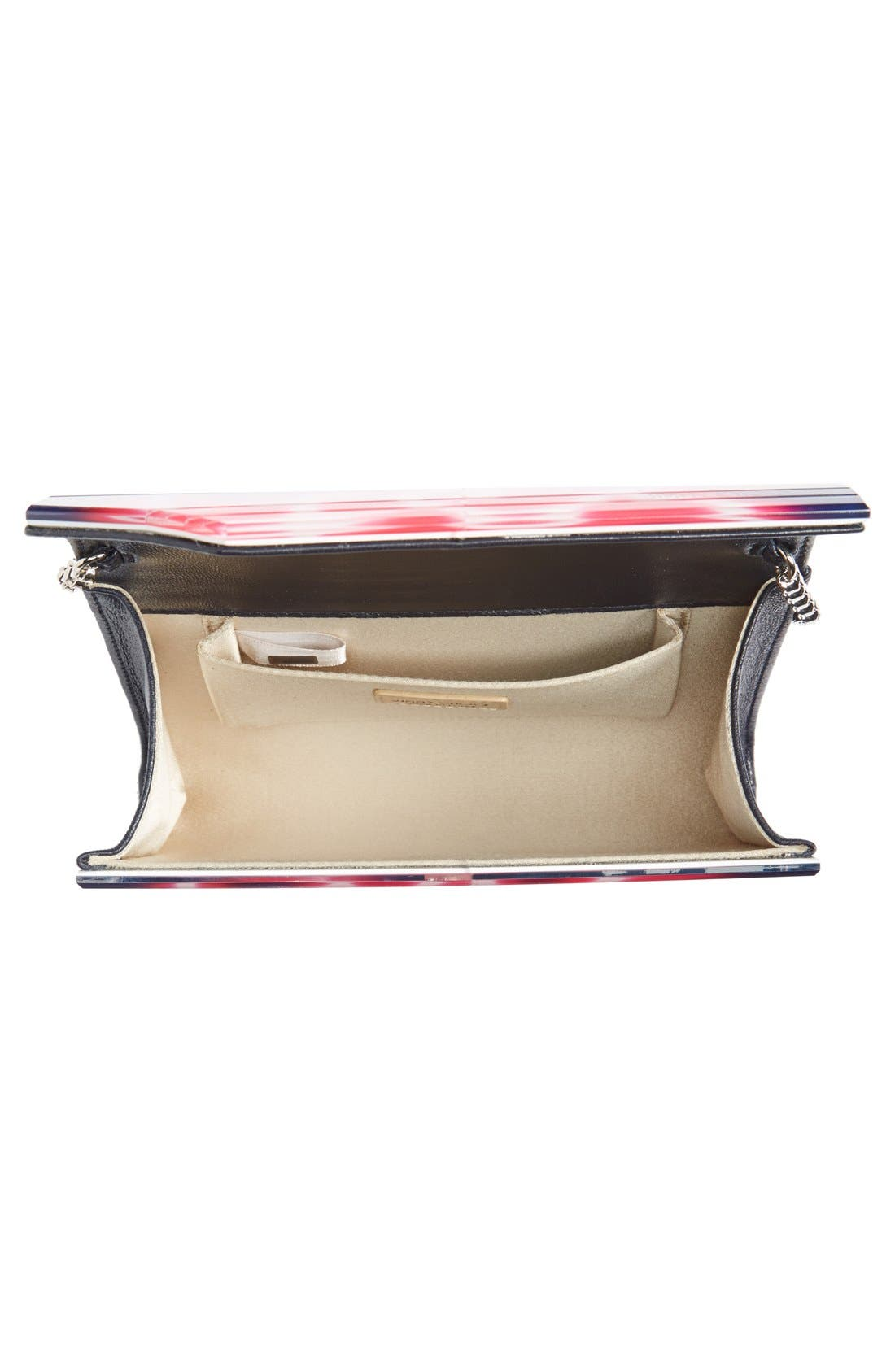 JIMMY CHOO,                             'Candy' Clutch,                             Alternate thumbnail 6, color,                             400