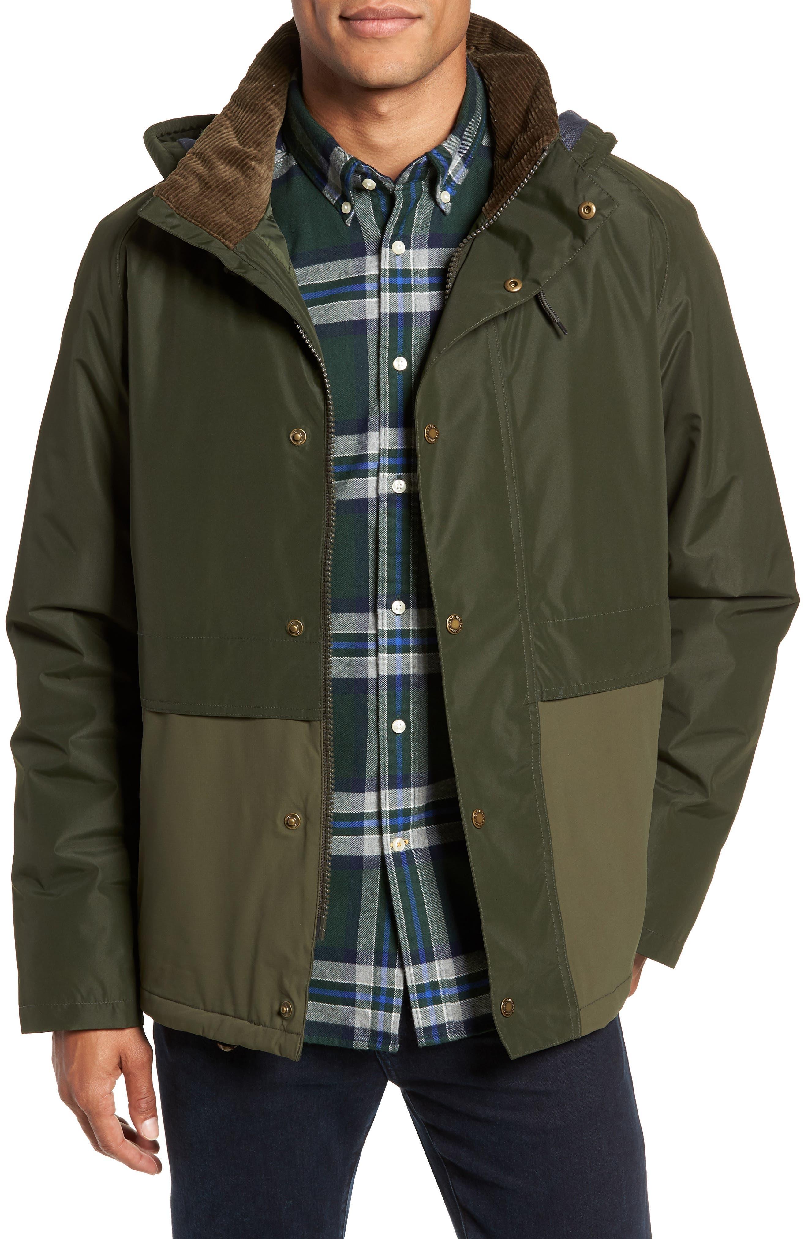 Barbour Rathlin Jacket Waterproof Breathable Jacket, Green
