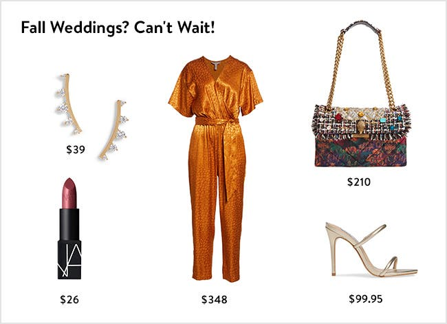 Fall weddings? Can't wait! Women's clothing, shoes, accessories and beauty.
