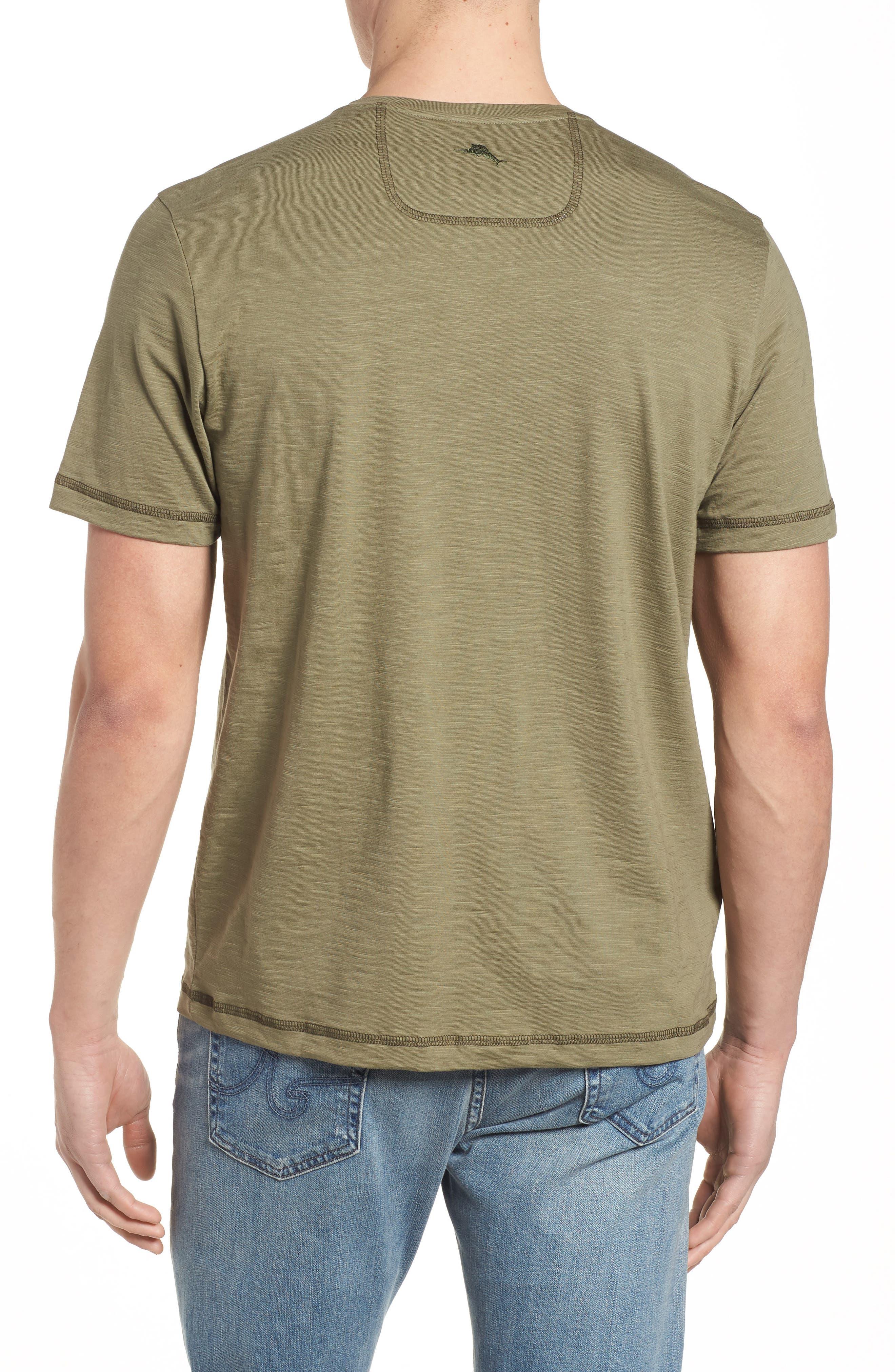 Portside Palms V-Neck T-Shirt,                             Alternate thumbnail 13, color,