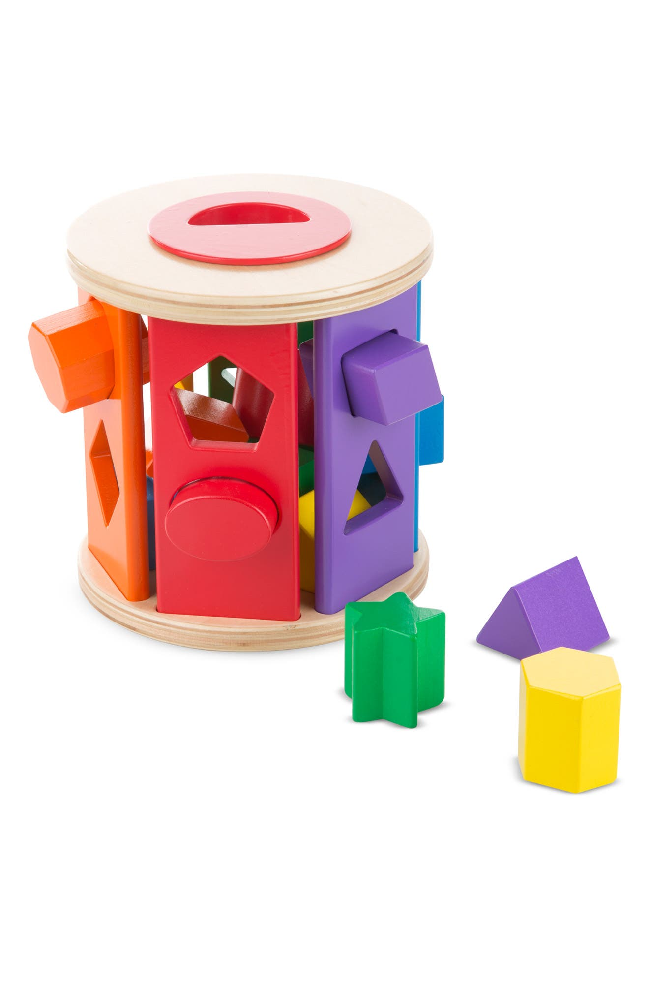 'Match & Roll' Shape Sorter,                             Alternate thumbnail 3, color,                             200