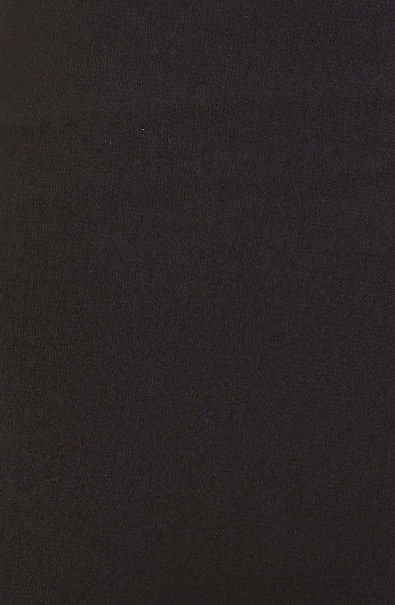 Mandy Side Panel Flared Pants,                             Alternate thumbnail 5, color,                             001