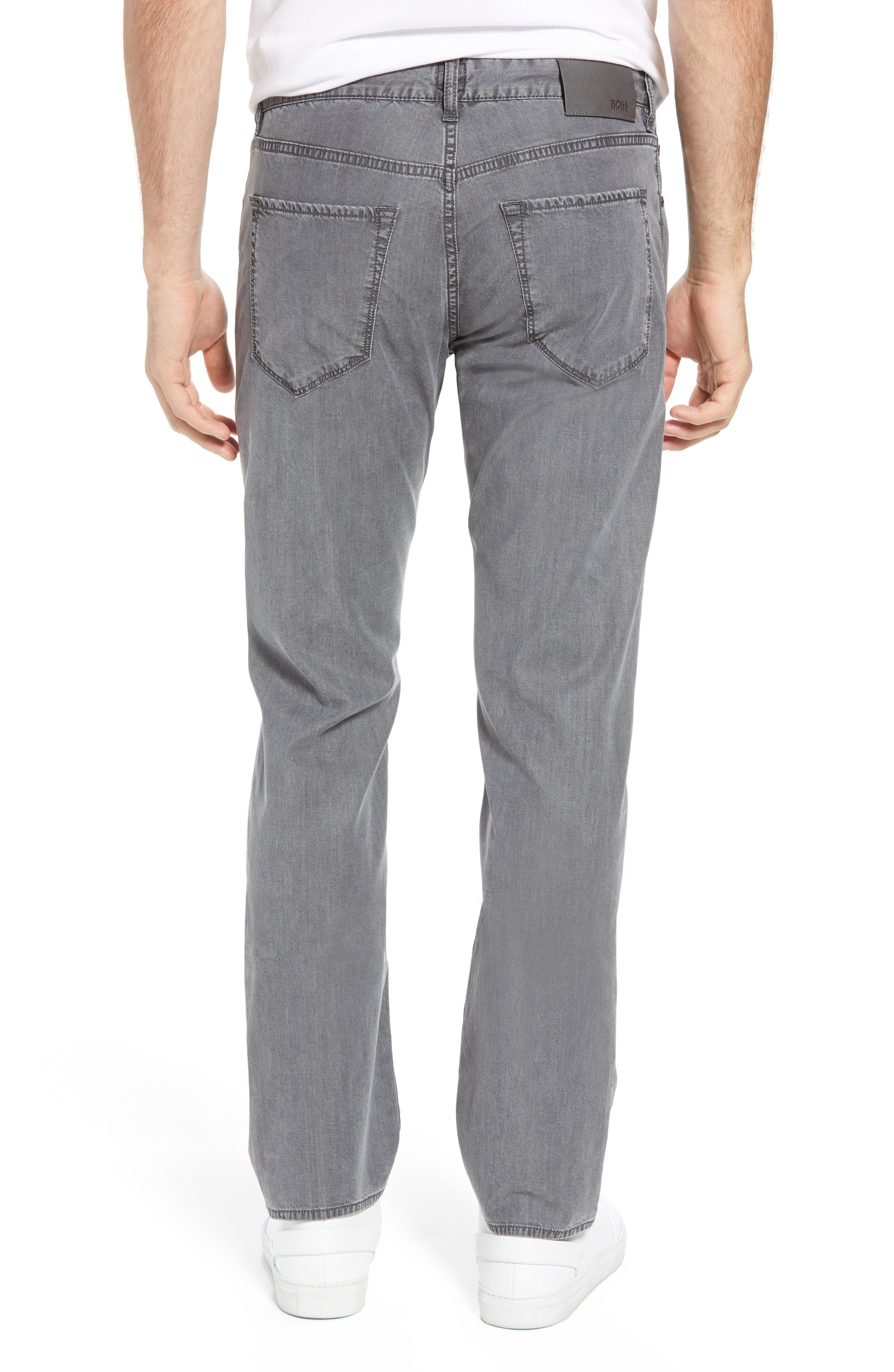 Maine Classic Fit Jeans,                             Alternate thumbnail 2, color,                             GREY