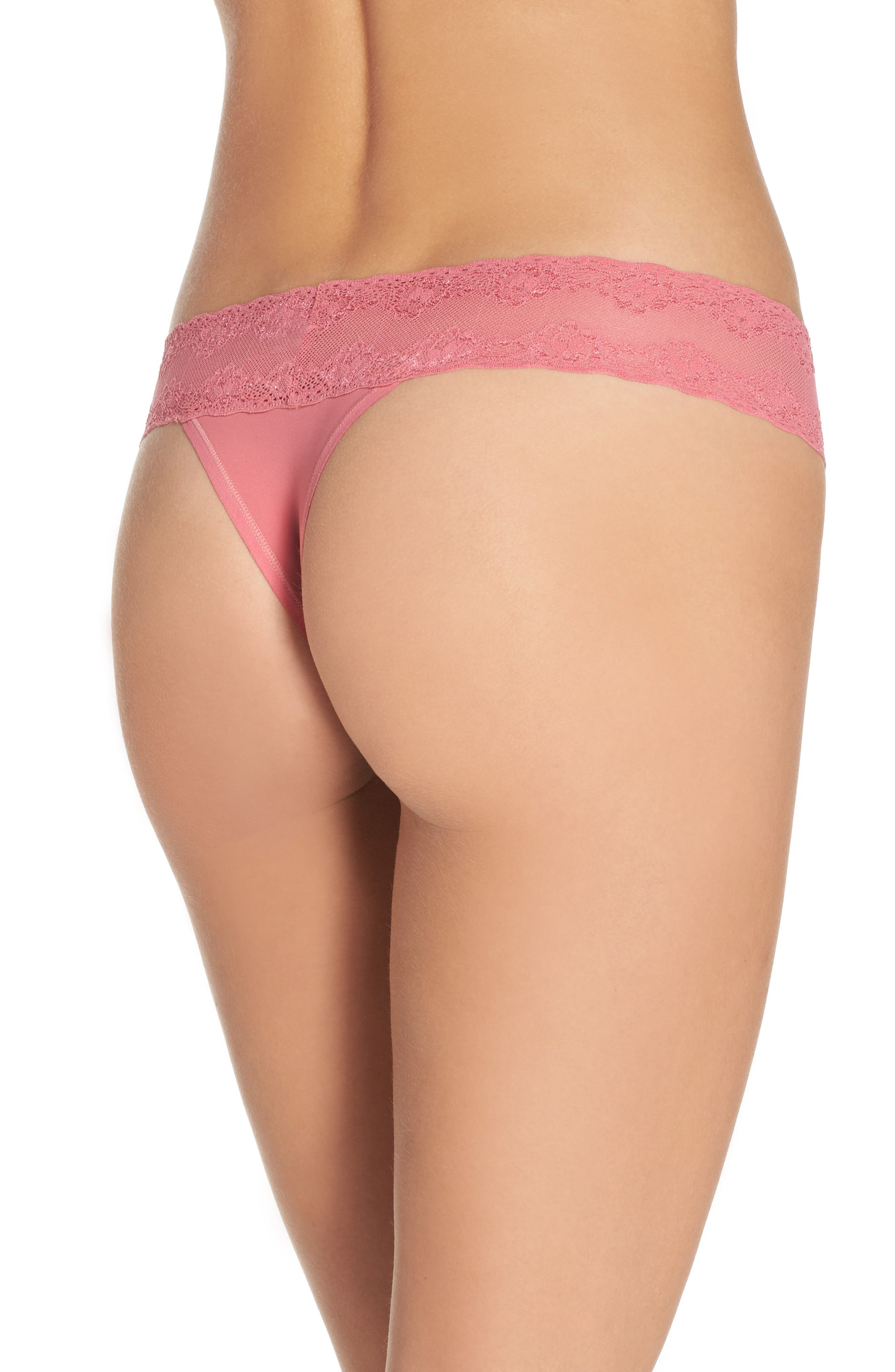 Bliss Perfection Thong,                             Alternate thumbnail 126, color,