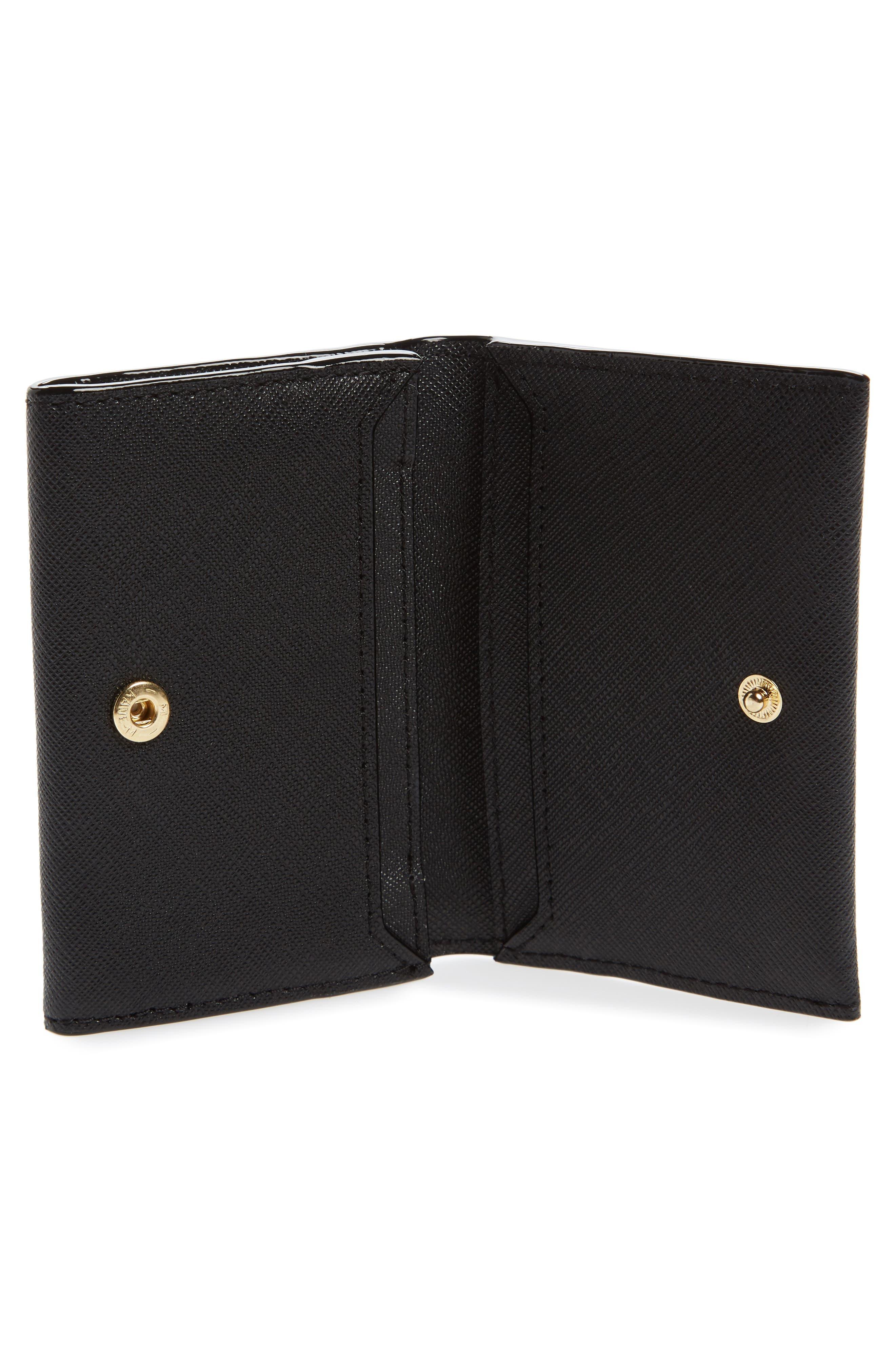 cameron street - farren leather card case,                             Alternate thumbnail 4, color,                             001