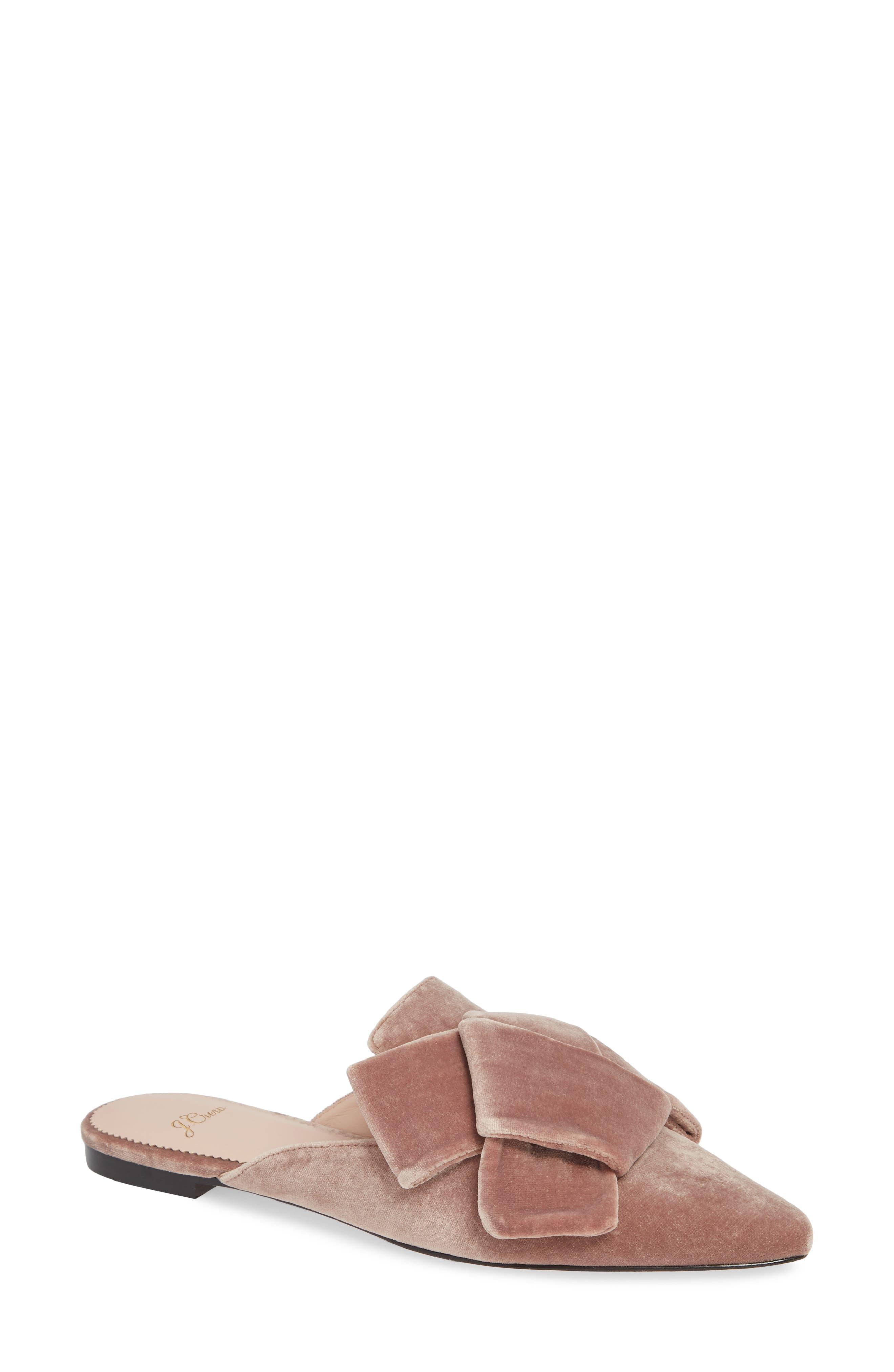 J.crew Pointed Toe Slide Sandal, Pink