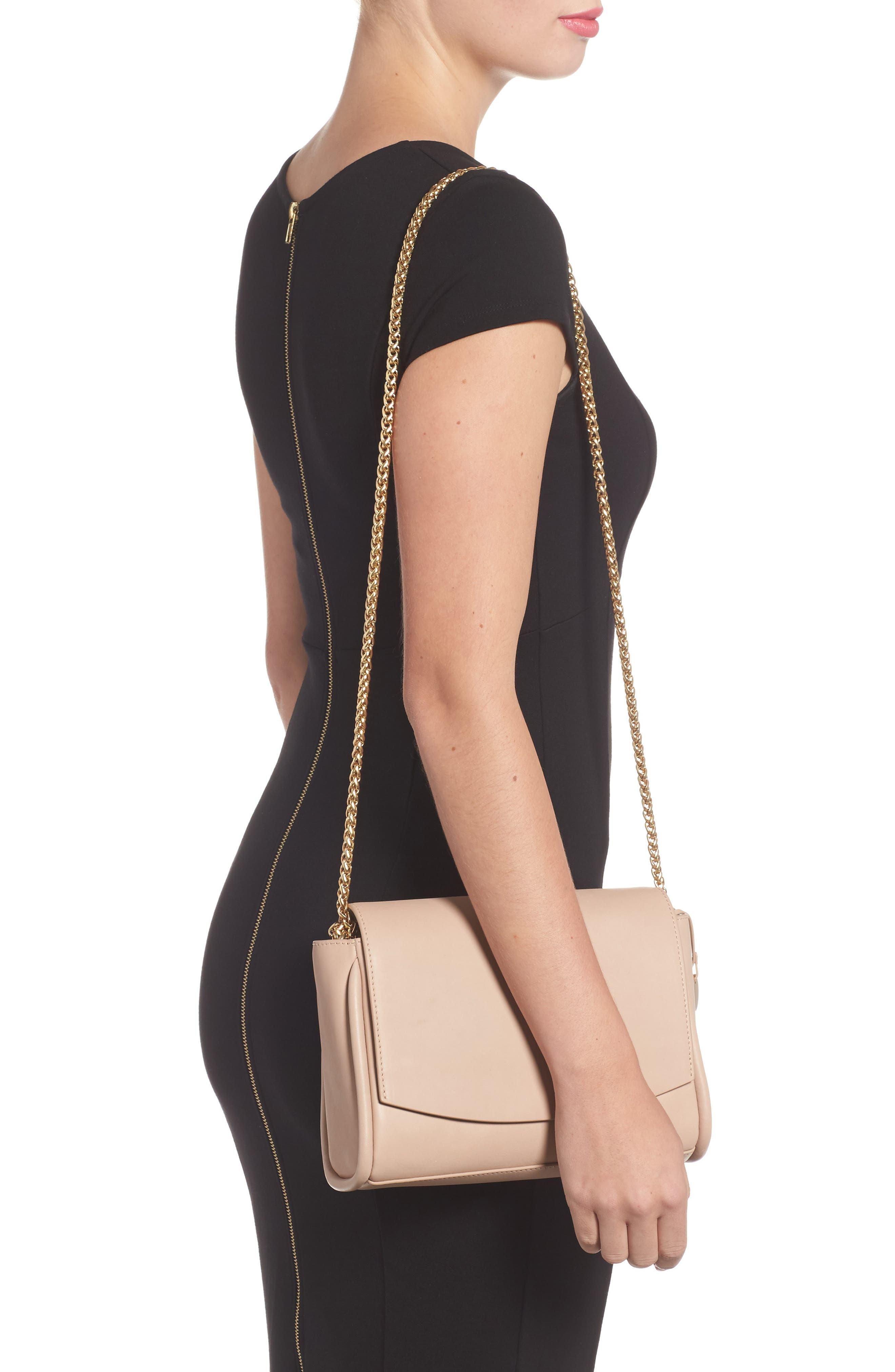 Sylvi Calfskin Leather Crossbody Bag,                             Alternate thumbnail 2, color,                             251