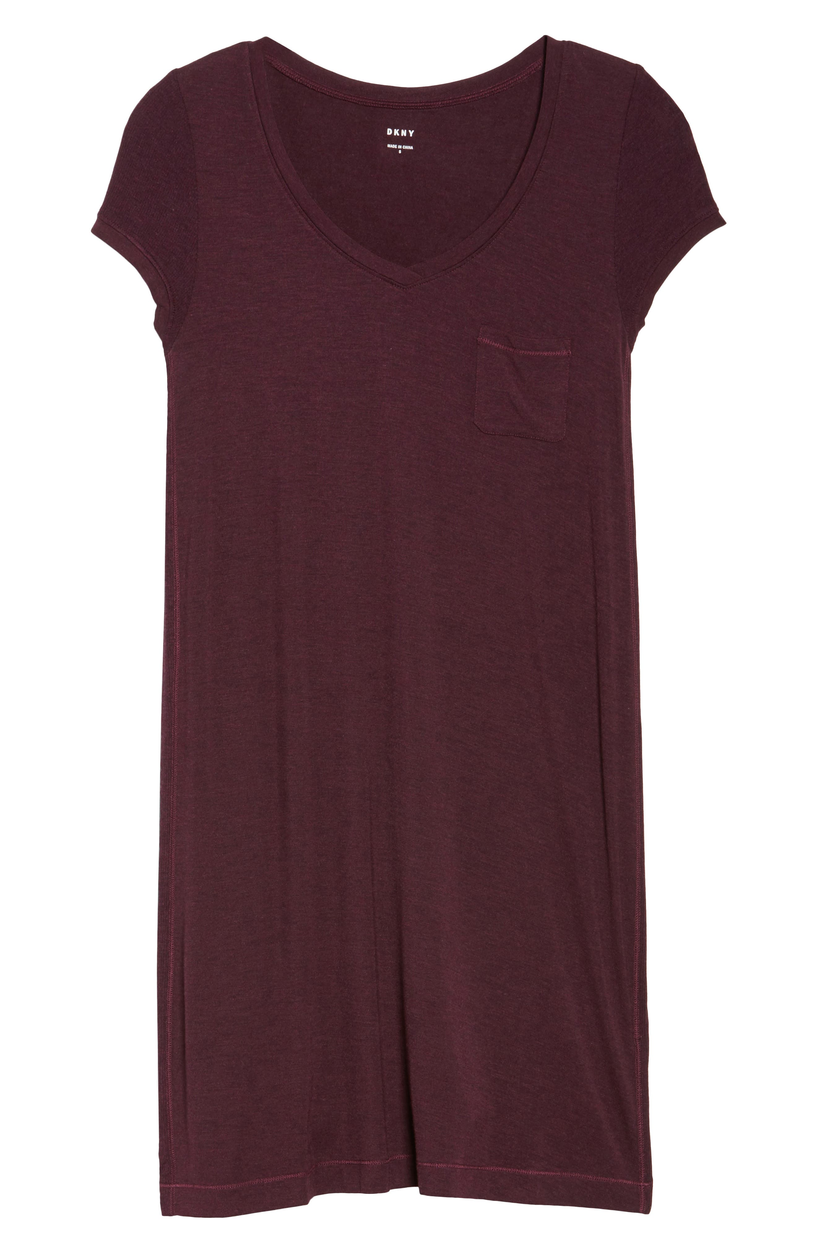 Jersey Nightgown,                             Alternate thumbnail 6, color,                             930