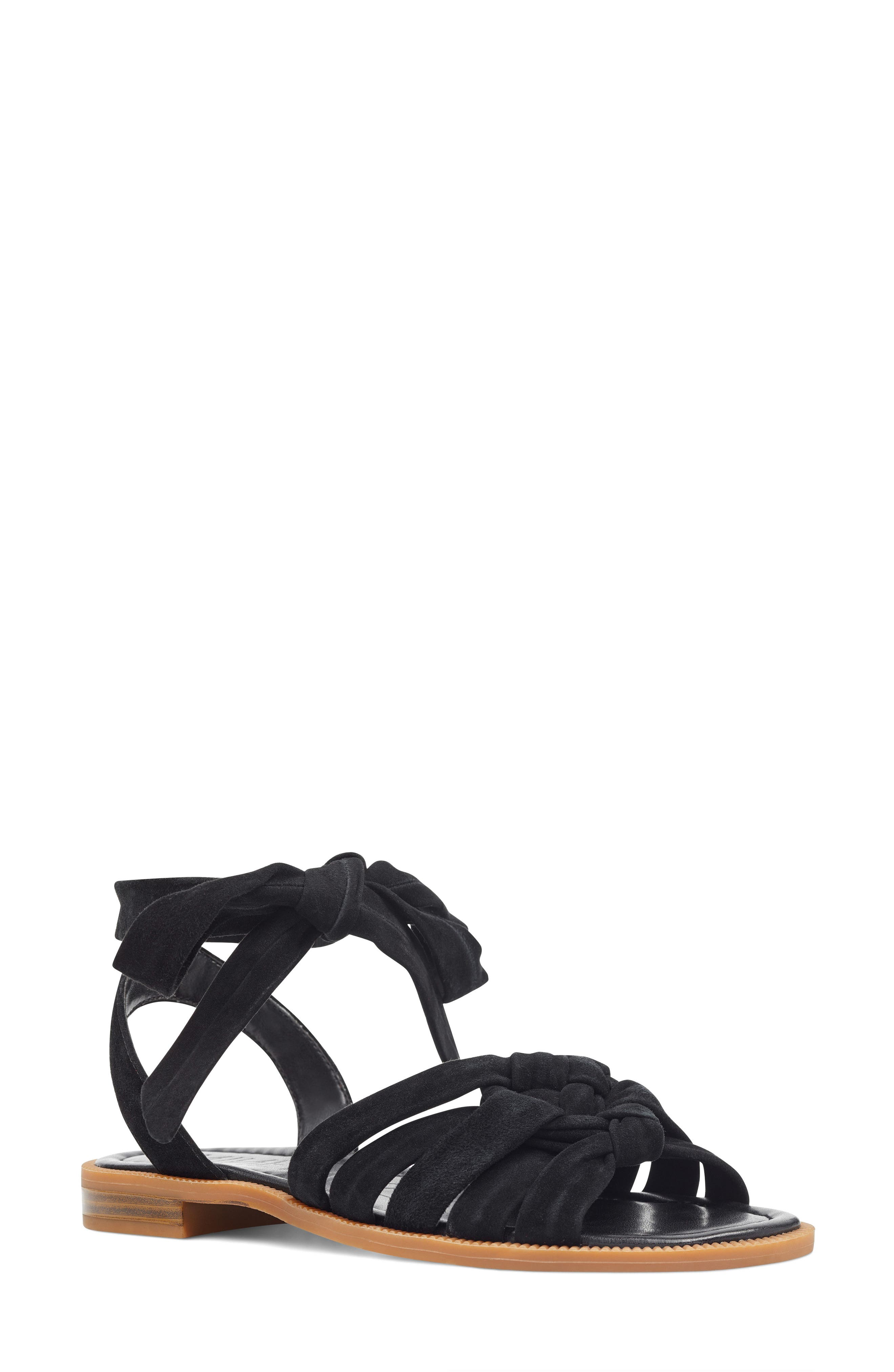 Xameera Knotted Sandal,                         Main,                         color, 002