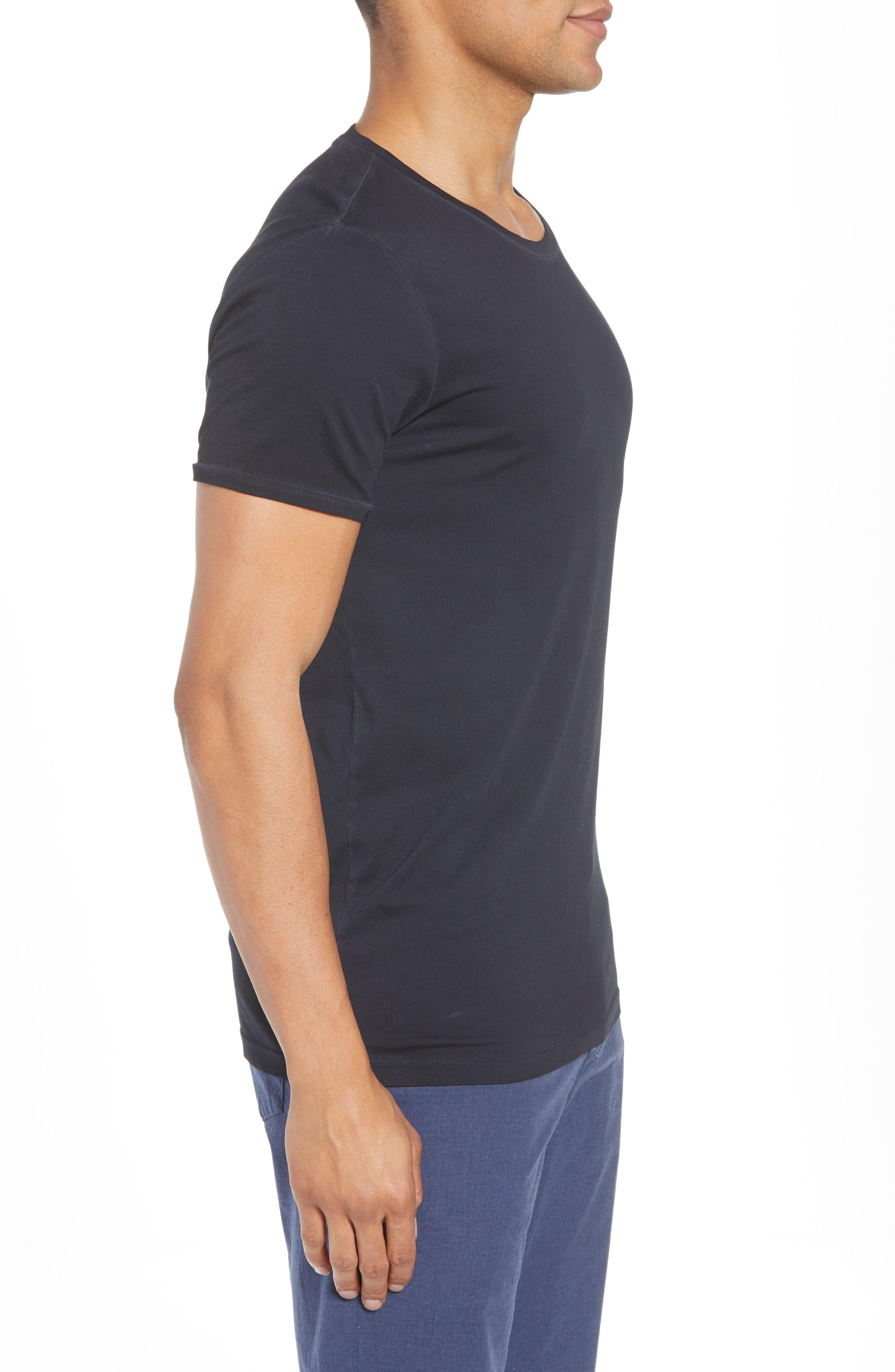 Troy Crewneck T-Shirt,                             Alternate thumbnail 6, color,