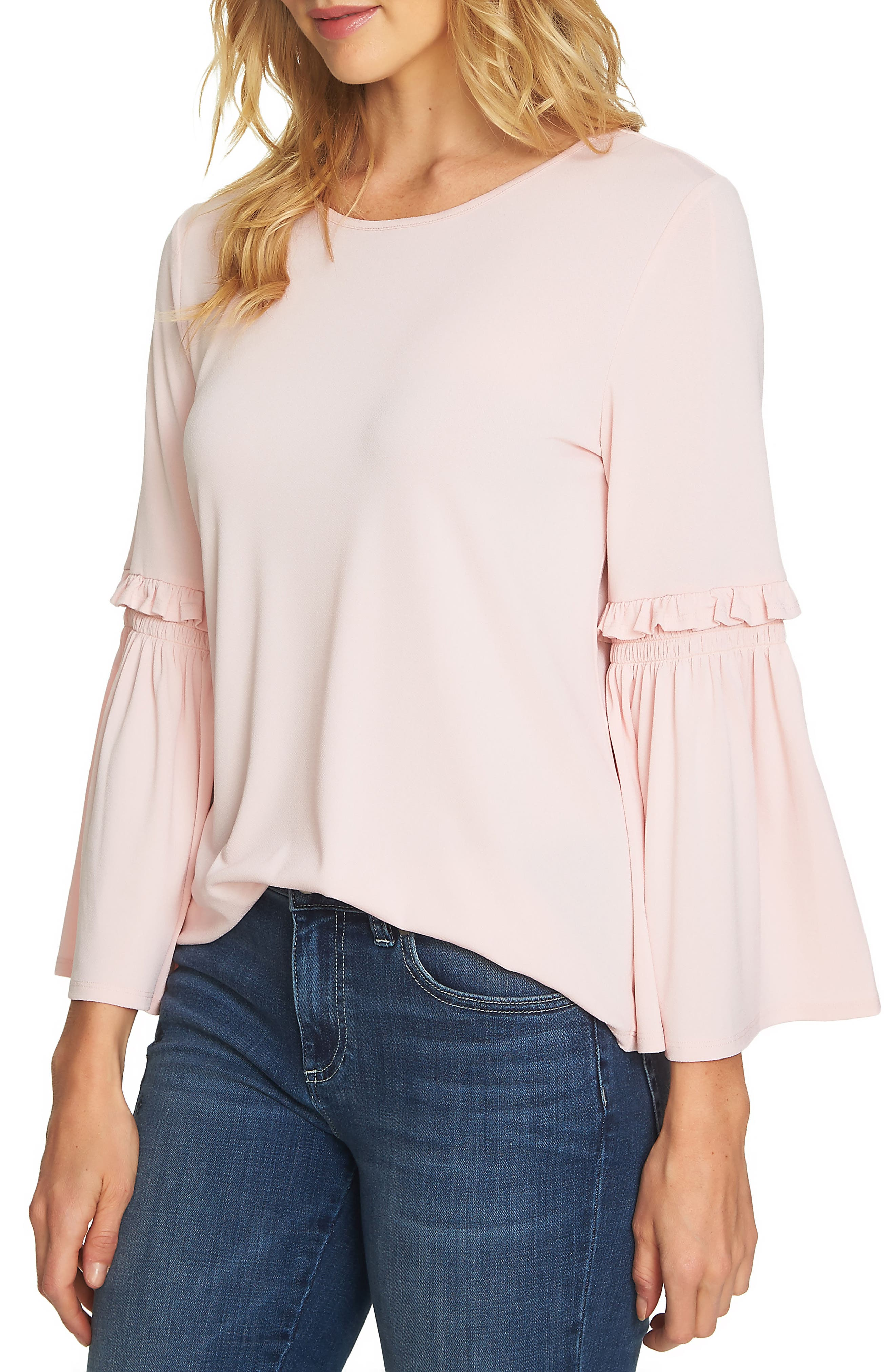 Bell Sleeve Knit Top,                             Main thumbnail 3, color,