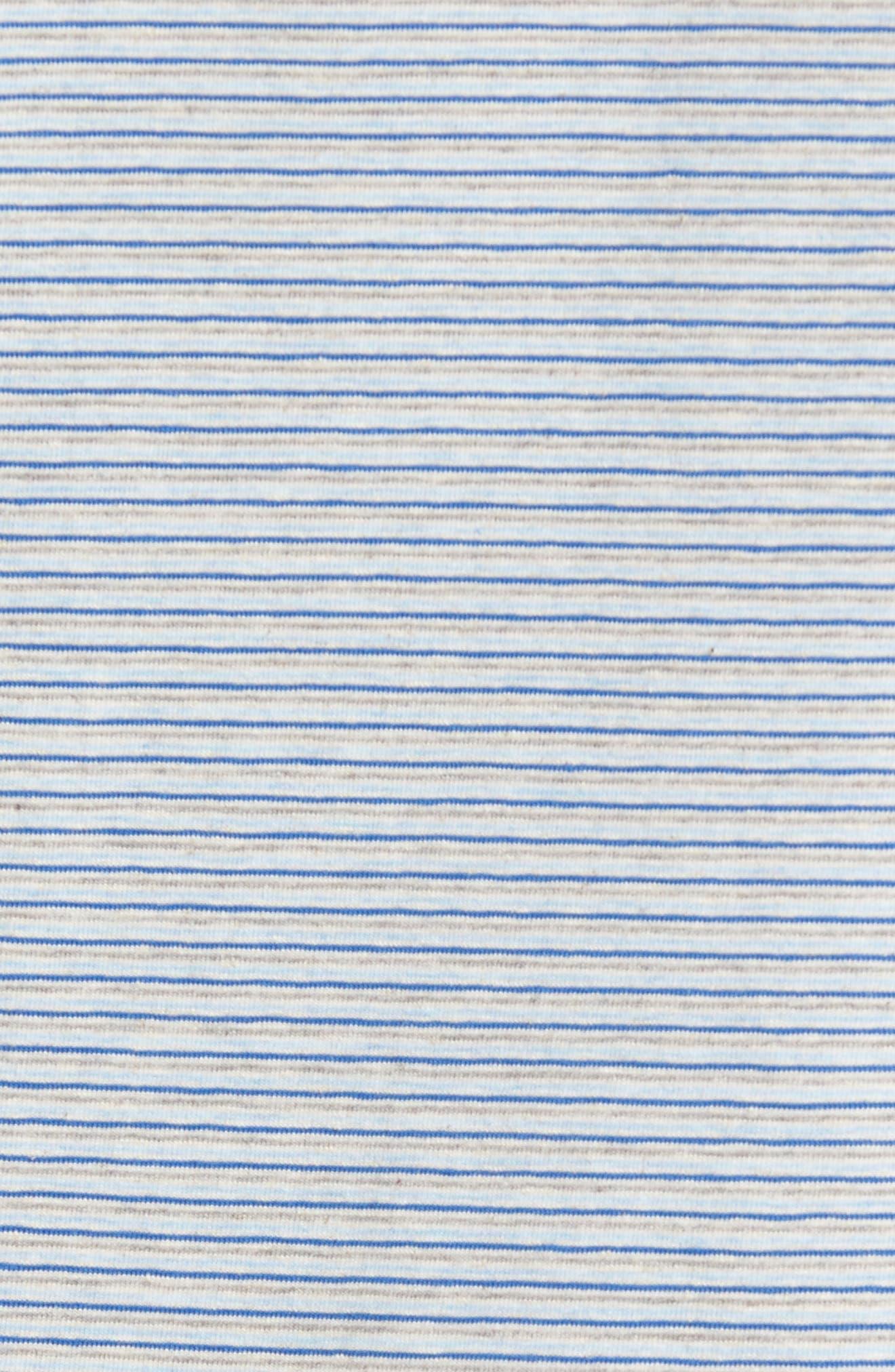 Strong Stripe T-Shirt,                             Alternate thumbnail 5, color,                             438