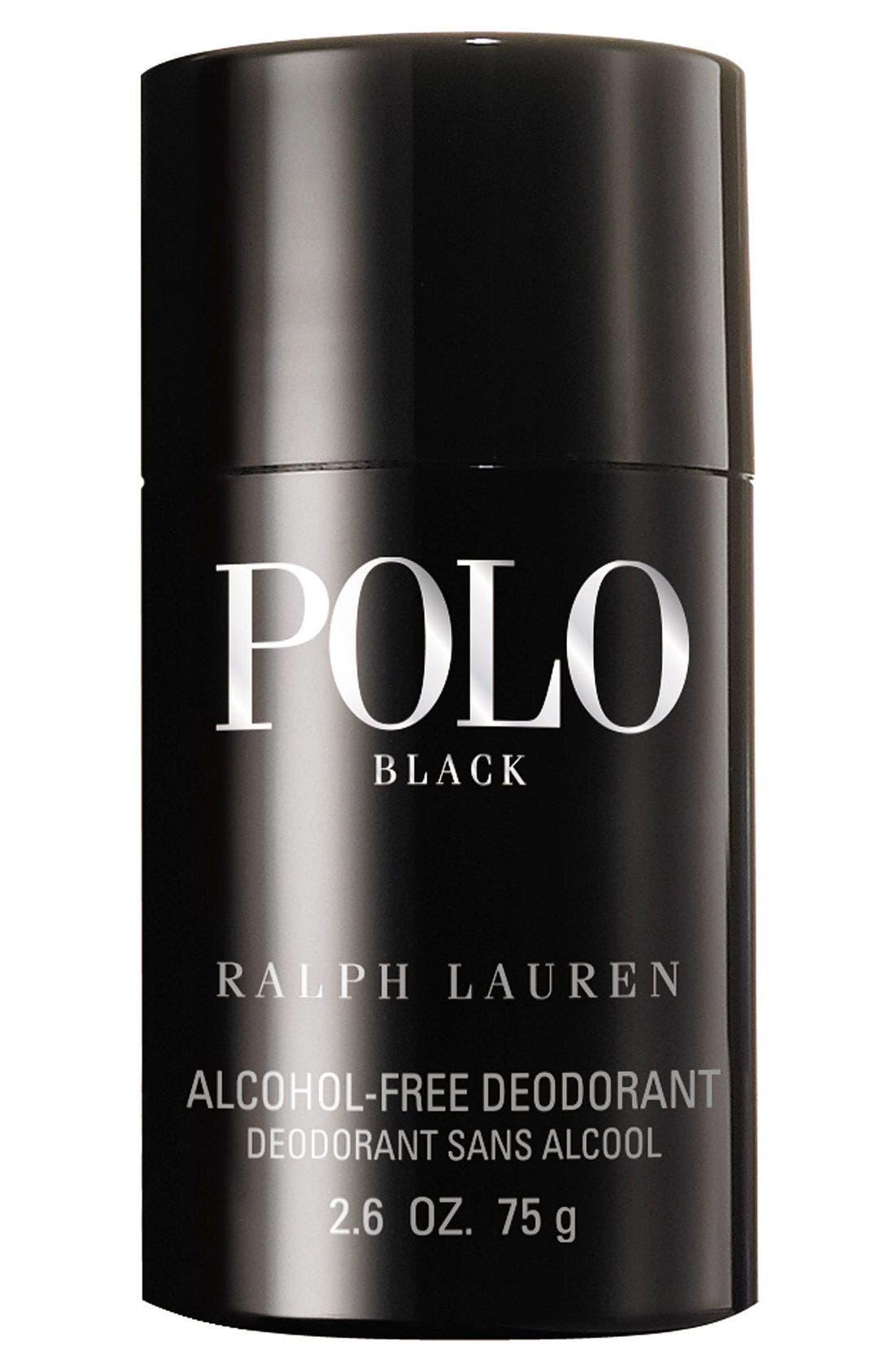 Ralph Lauren Polo Black Deodorant Stick,                             Main thumbnail 1, color,                             000