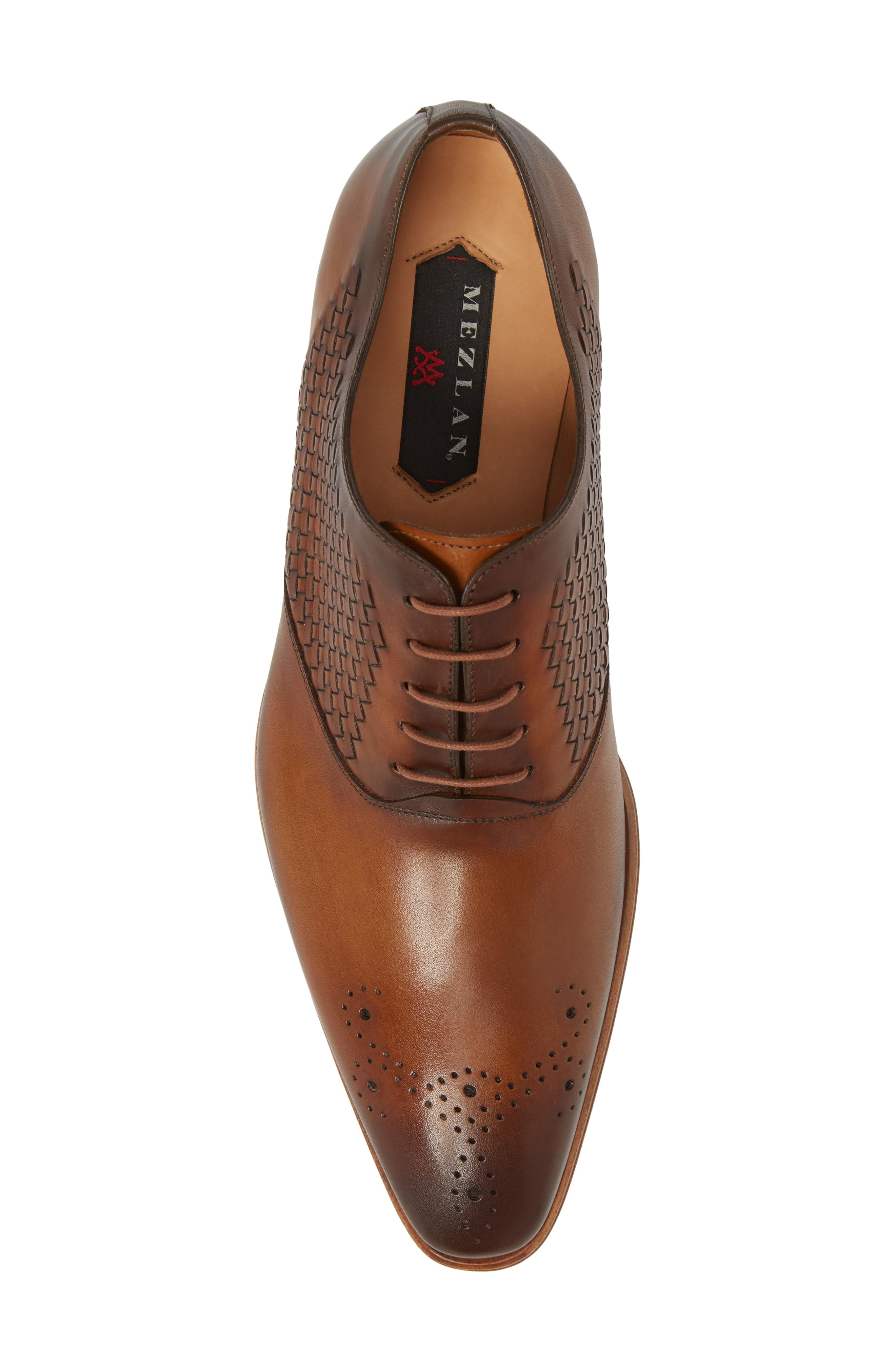 Juventa Woven Oxford,                             Alternate thumbnail 5, color,                             HONEY LEATHER
