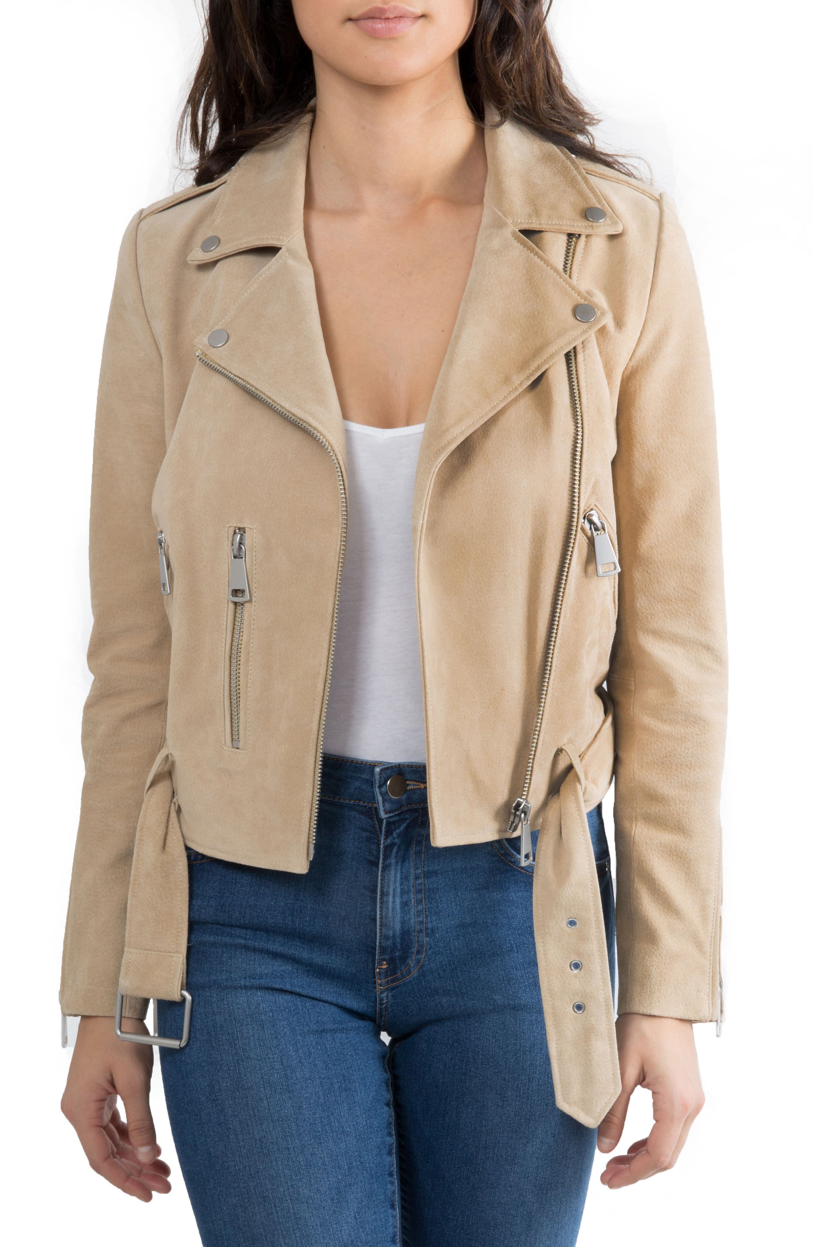 NYC  Suede Jacket,                             Main thumbnail 3, color,