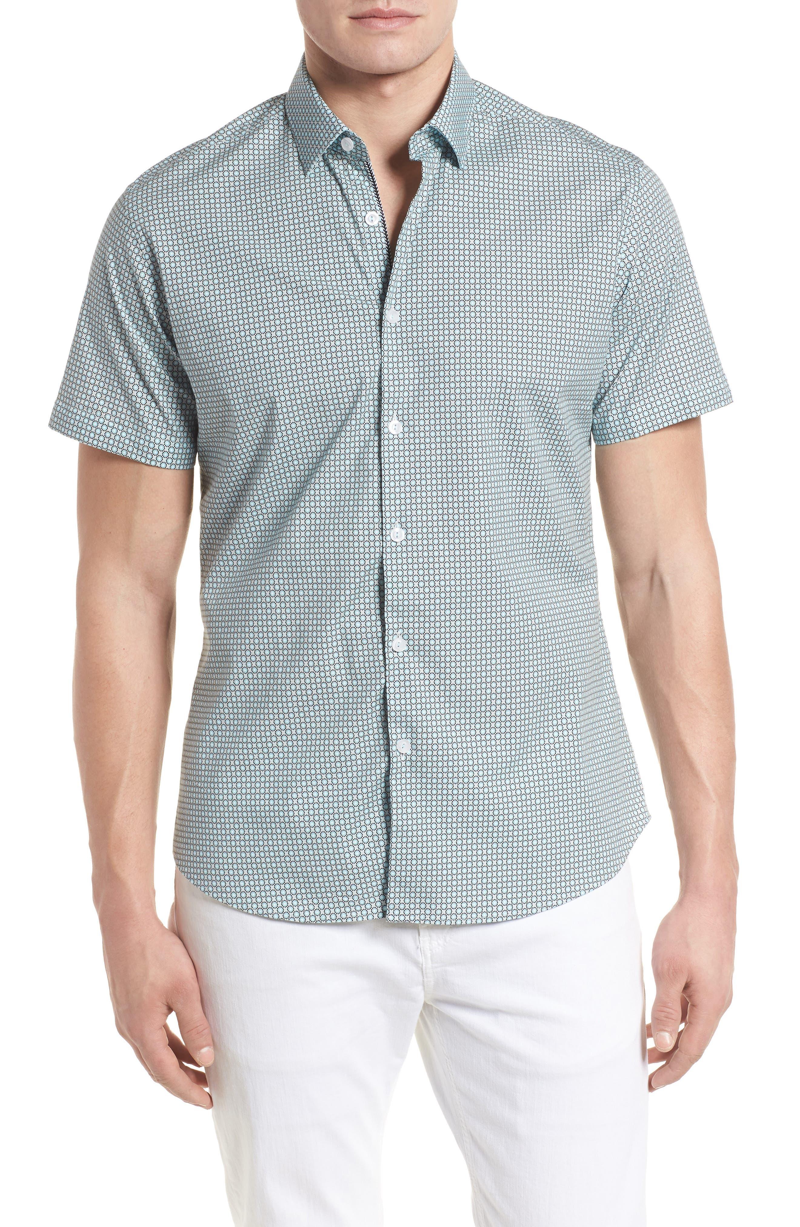 Woven Sport Shirt,                         Main,                         color, 020