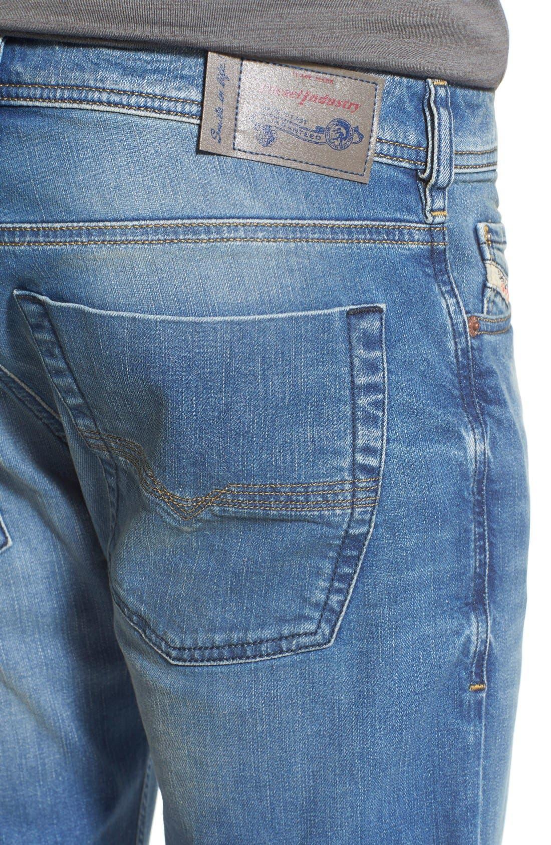 'Zatiny' Bootcut Jeans,                             Alternate thumbnail 5, color,                             400
