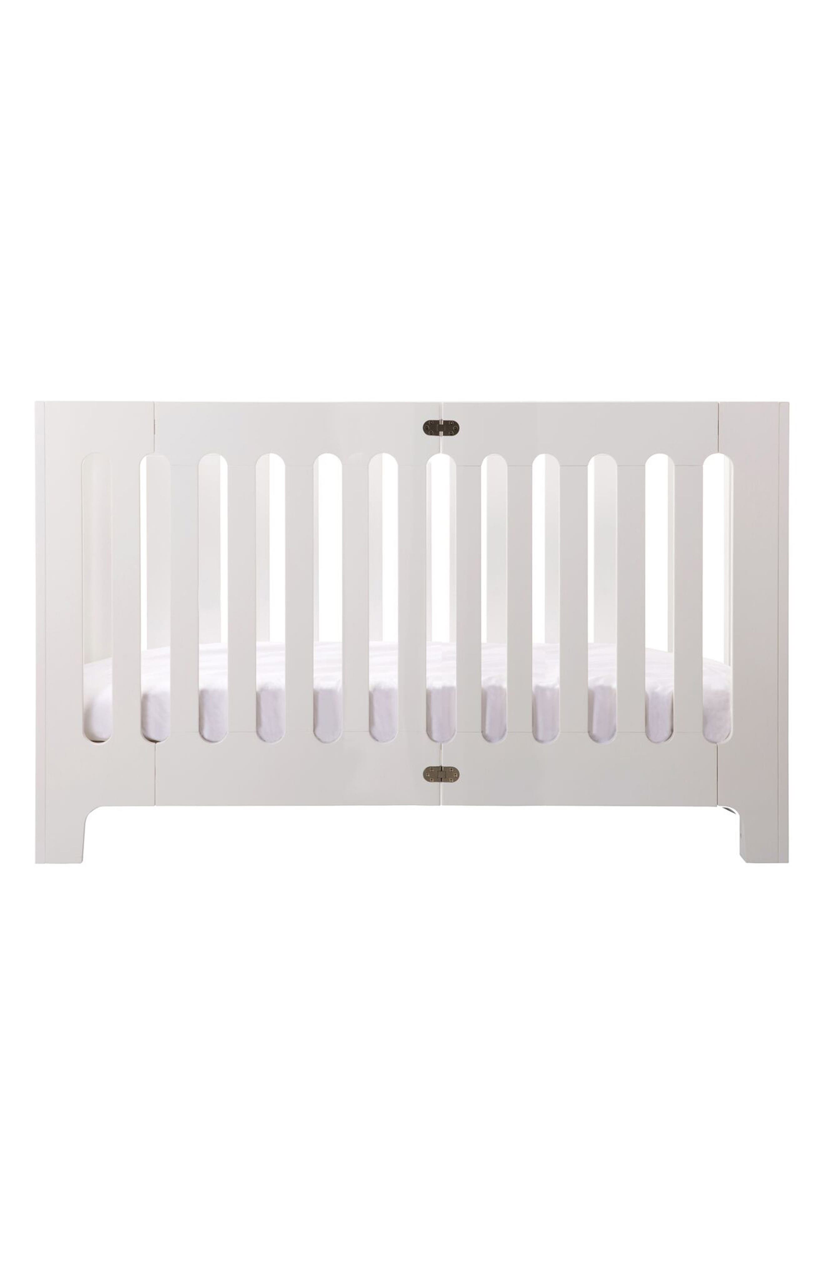 Baby Alma Max Standard Size Solid Wood Crib,                             Main thumbnail 1, color,                             COCONUT WHITE