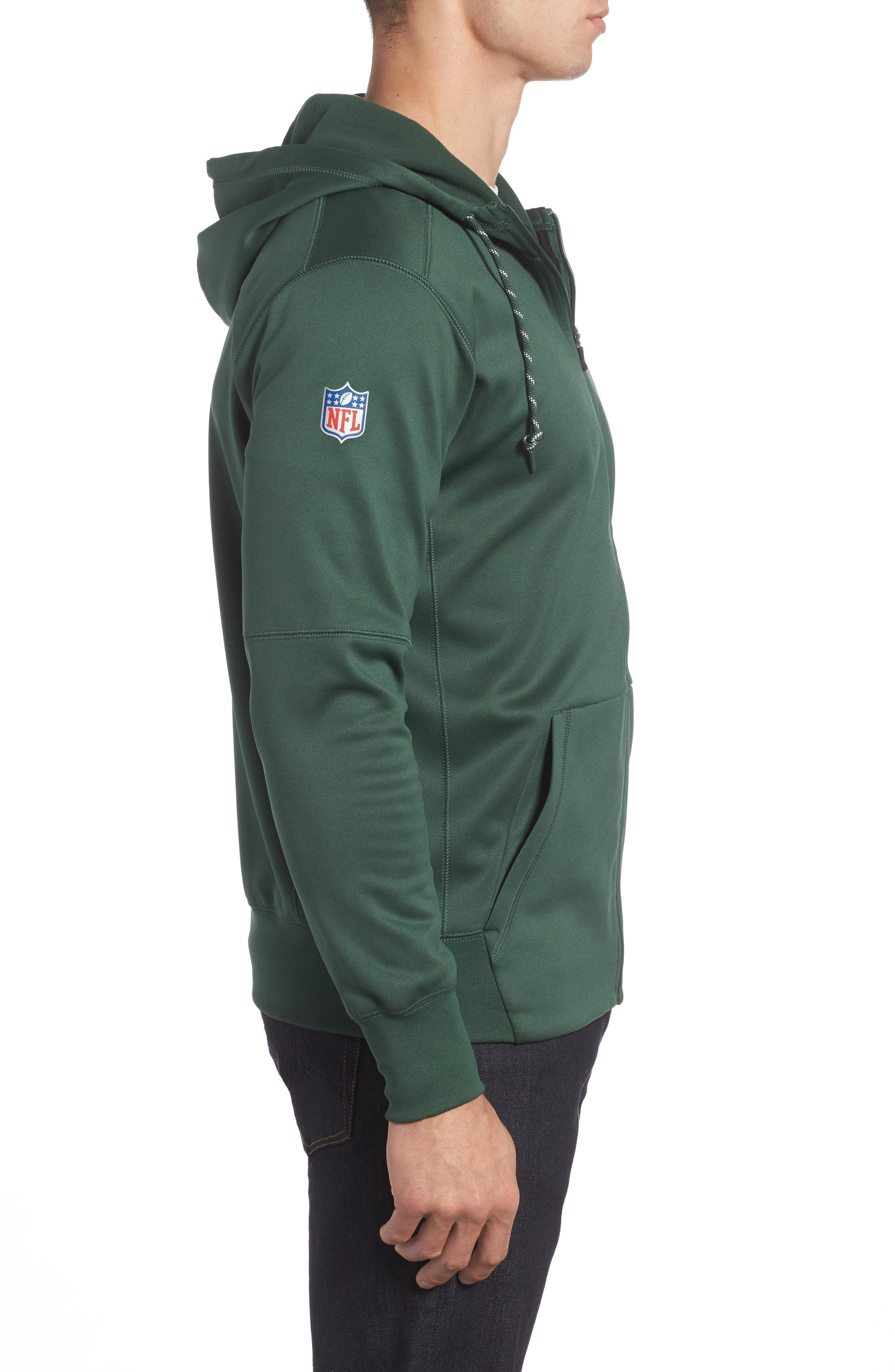 Therma-FIT NFL Graphic Zip Hoodie,                             Alternate thumbnail 17, color,