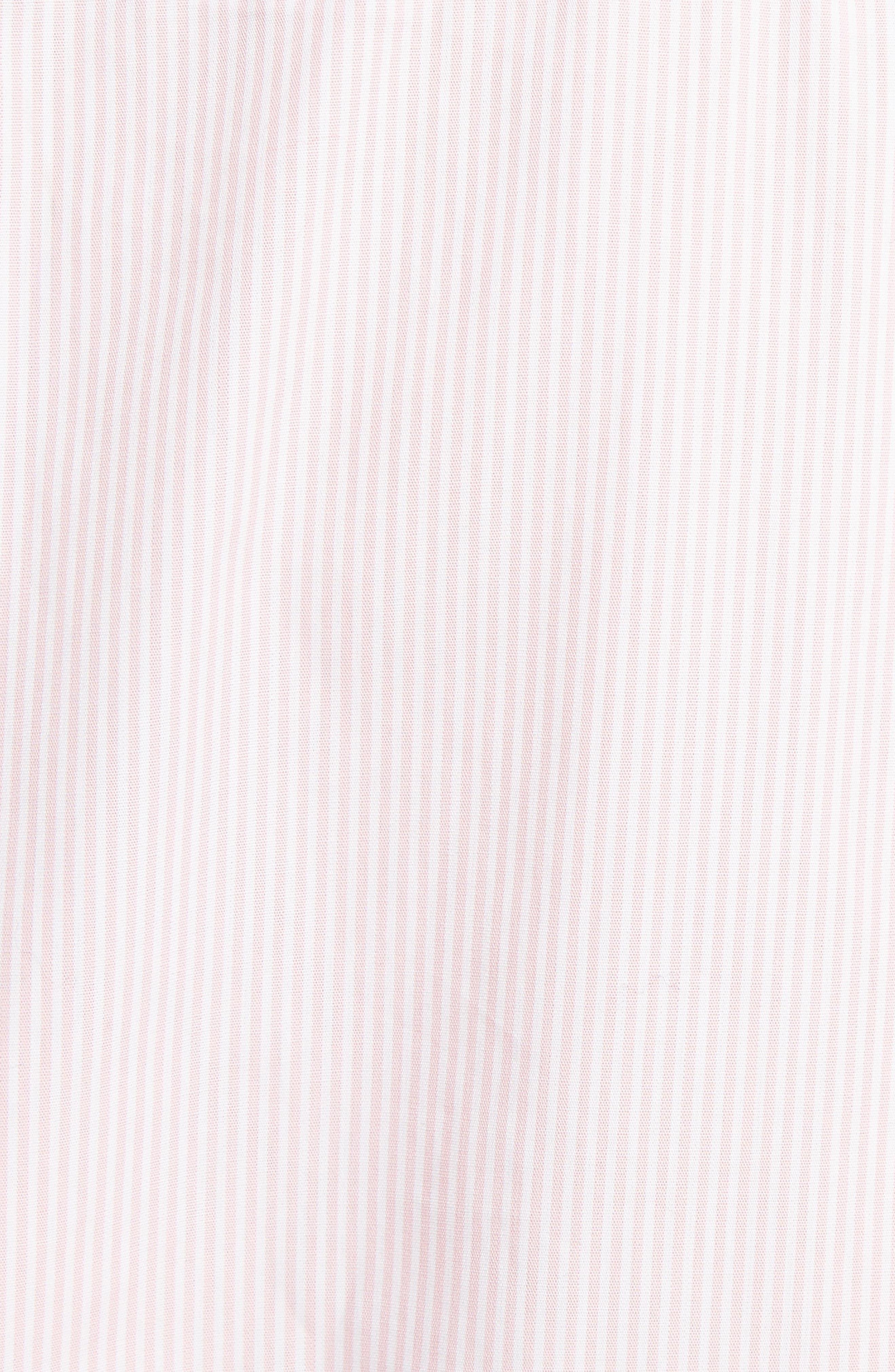 Beaded Pinstripe Shirt,                             Alternate thumbnail 5, color,