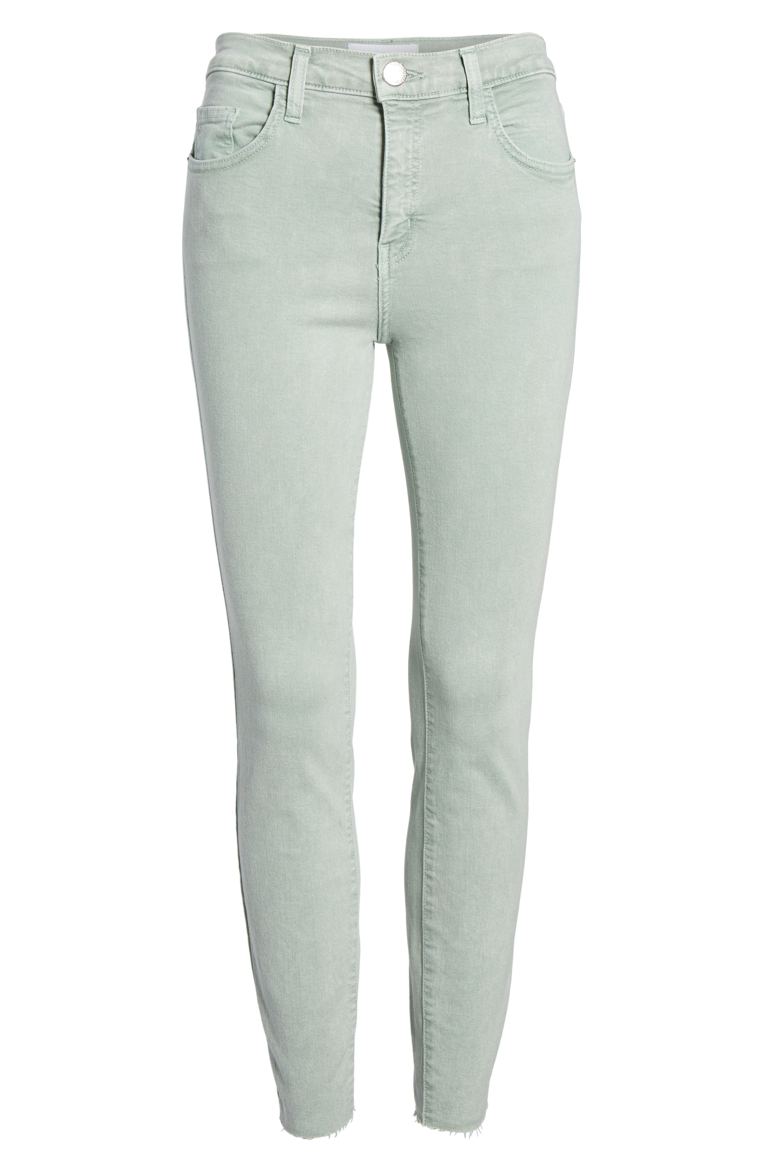 The High Waist Ankle Skinny Jeans,                             Alternate thumbnail 7, color,