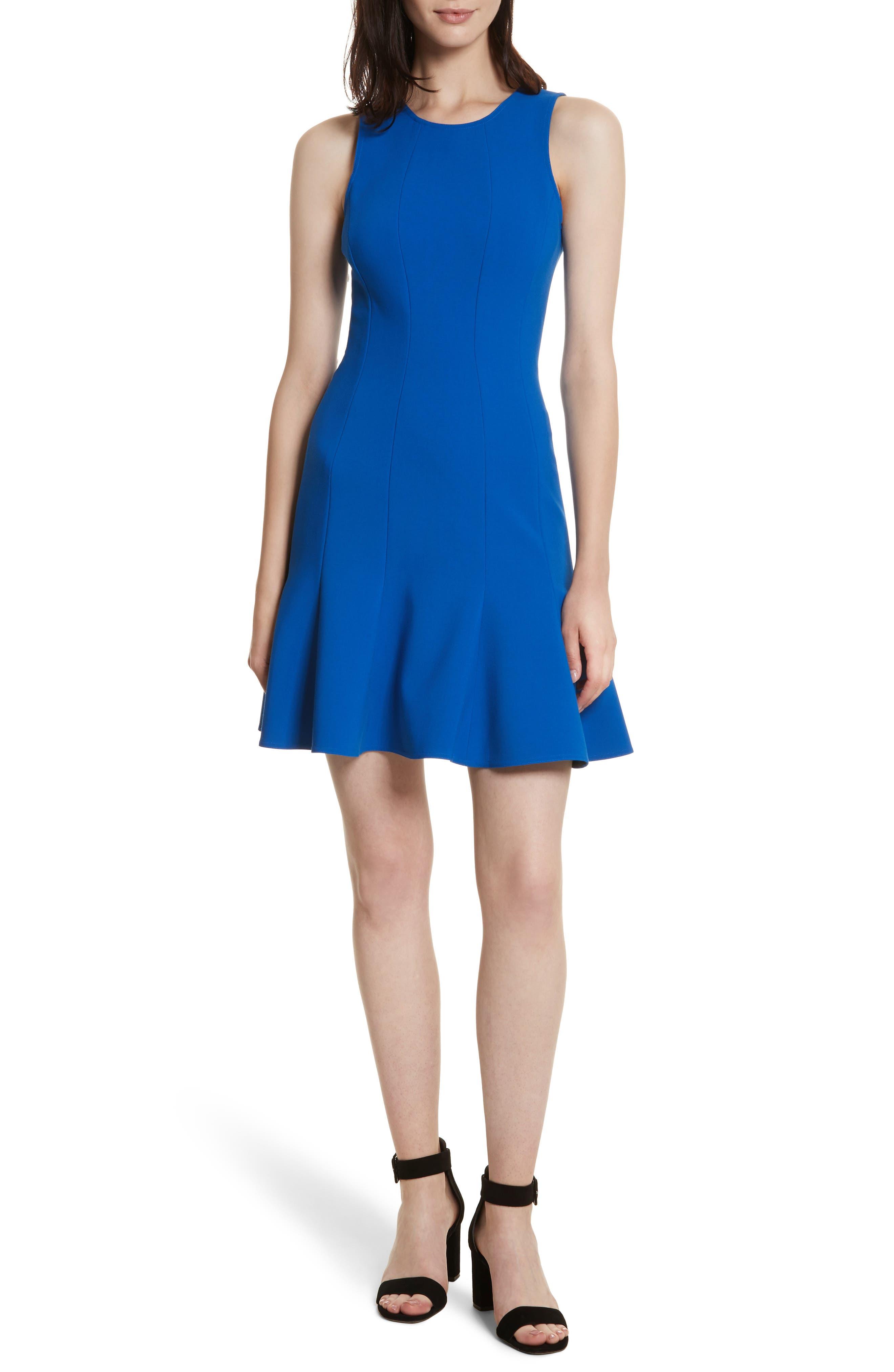 Rooney Flare Hem Dress,                             Main thumbnail 2, color,