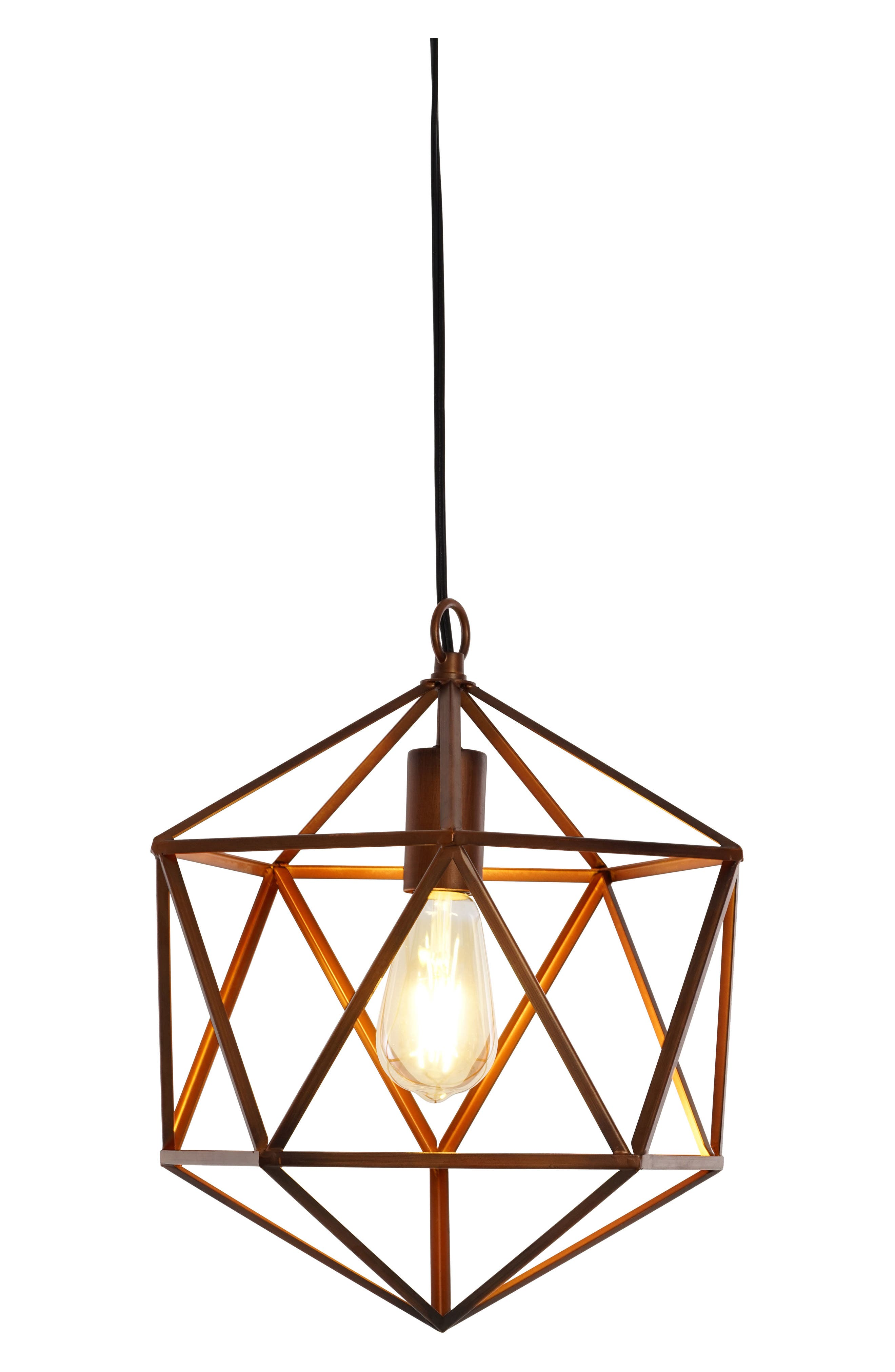 JAlexander Geometric Pendant Light,                             Main thumbnail 1, color,                             200