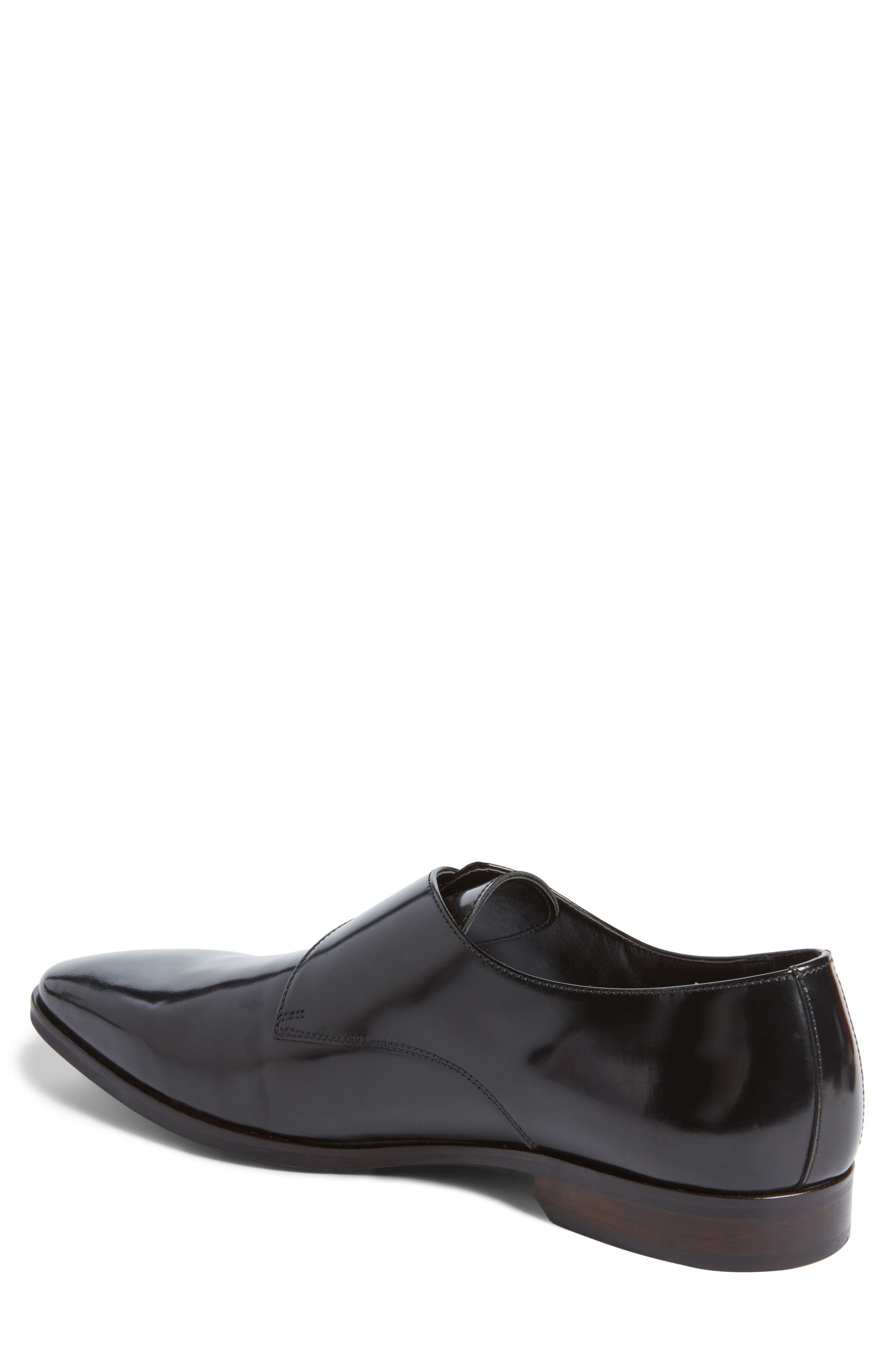 Webster Single Strap Monk Shoe,                             Alternate thumbnail 2, color,                             001
