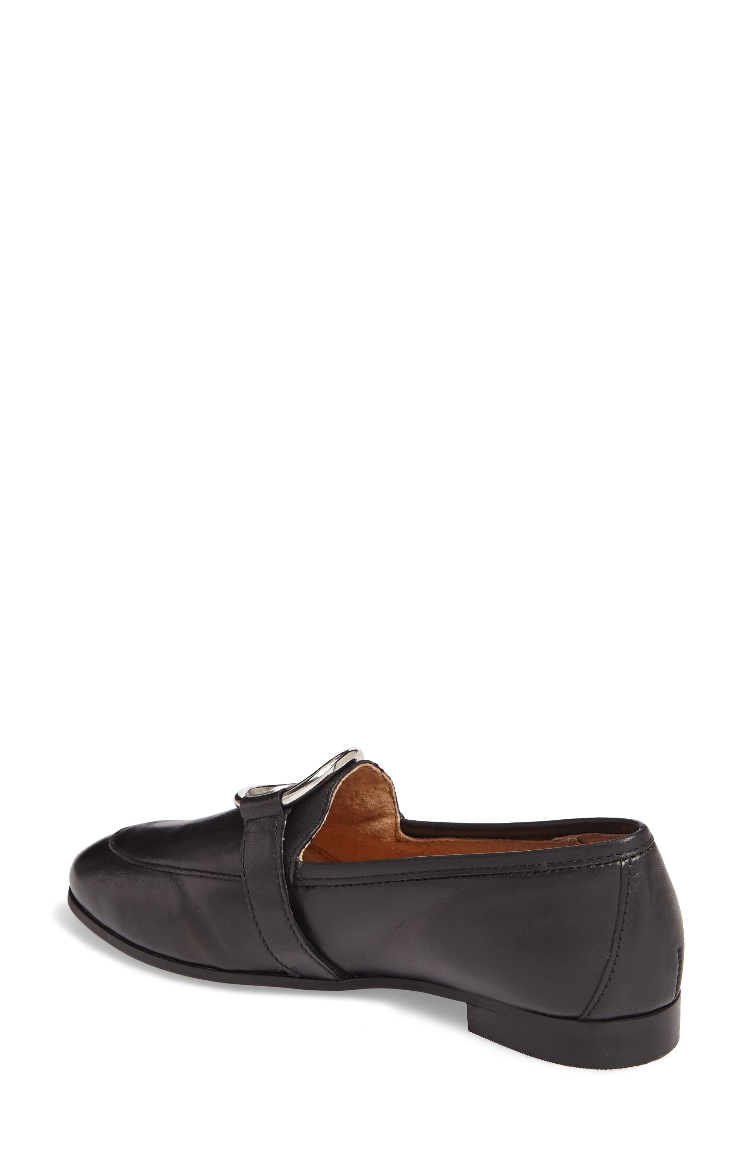 TOPSHOP,                             Kreme Ring Loafer,                             Alternate thumbnail 2, color,                             001