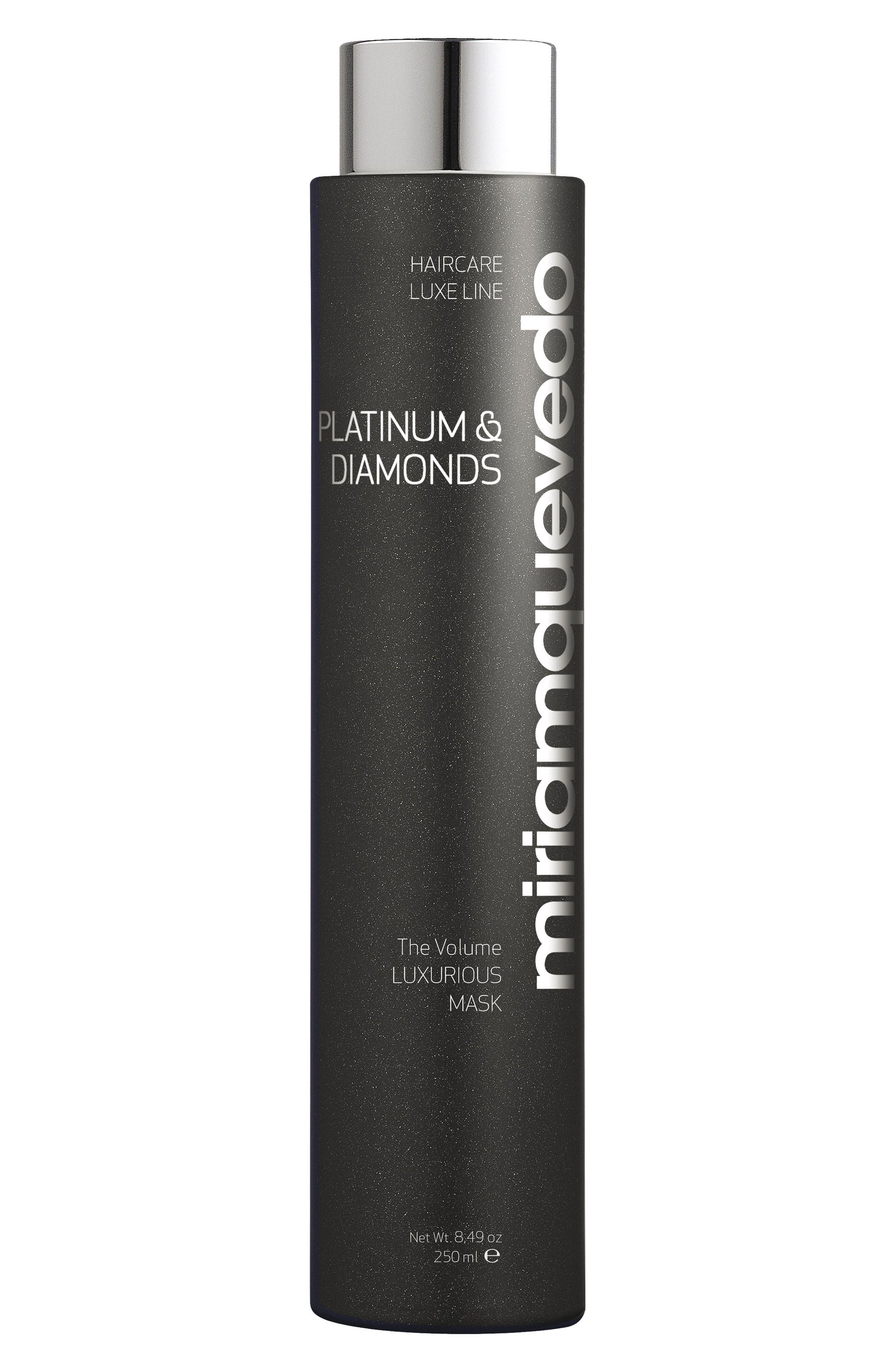 SPACE.NK.apothecary Miriam Quevedo Platinum & Diamonds Luxurious Volume Hair Mask,                             Main thumbnail 1, color,                             NO COLOR