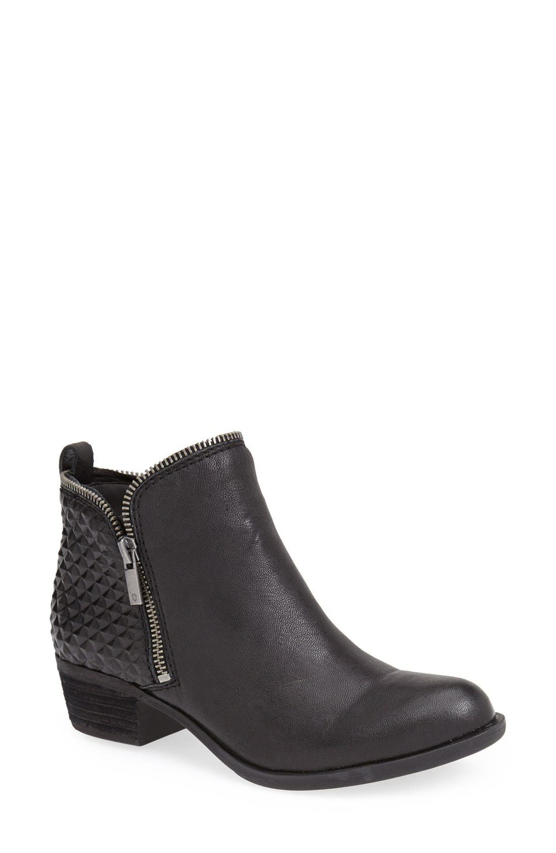 LUCKY BRAND,                             'Bartalino' Bootie,                             Main thumbnail 1, color,                             001
